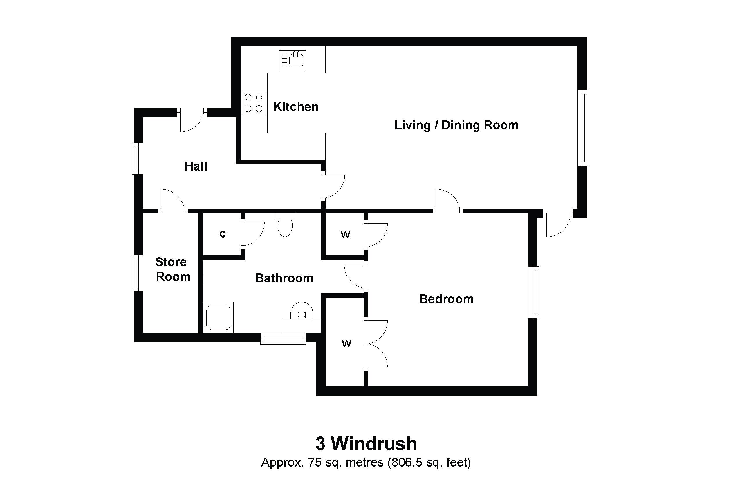 3 Windrush Floorplan