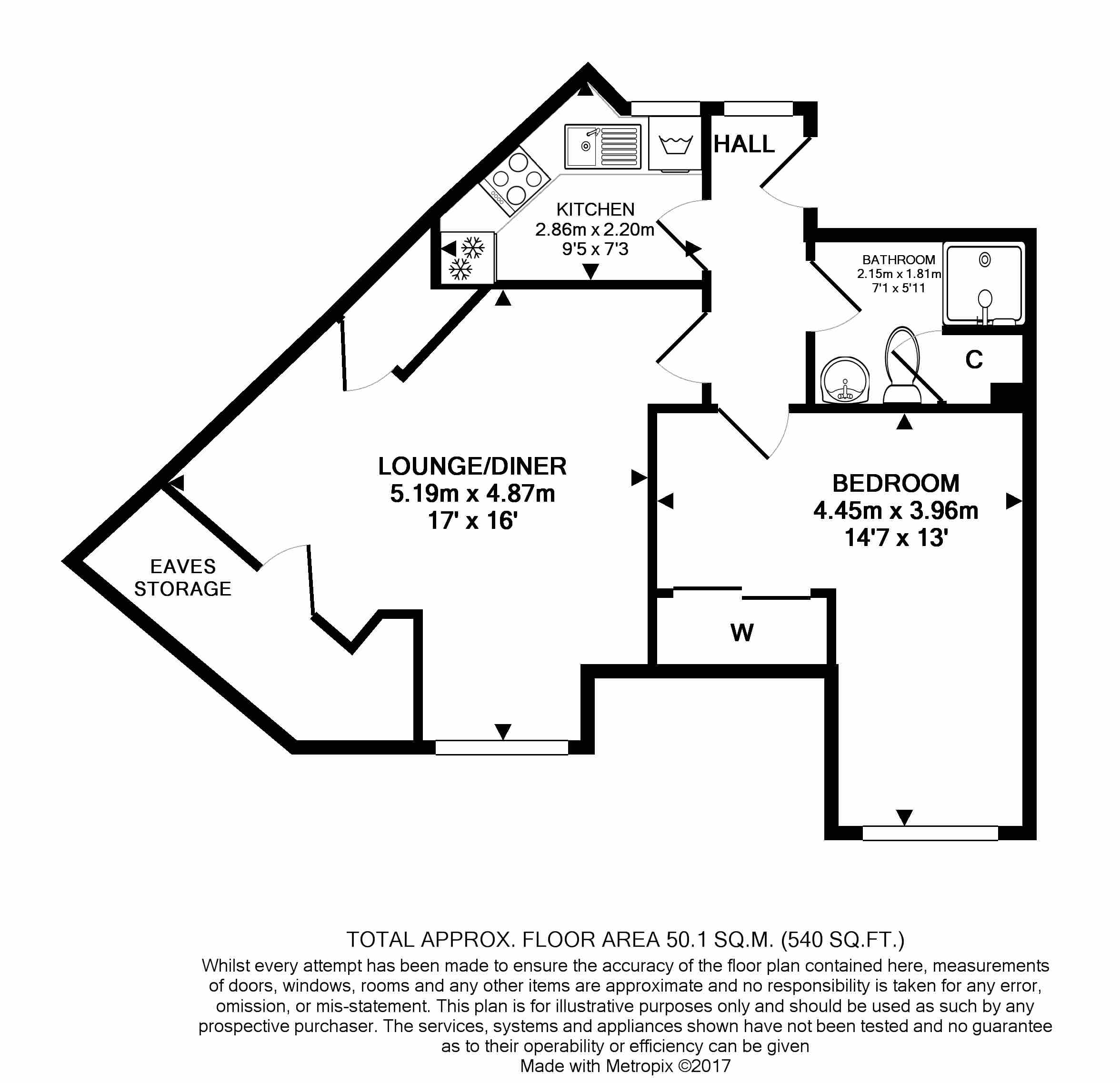 18 Deanery Walk Floorplan