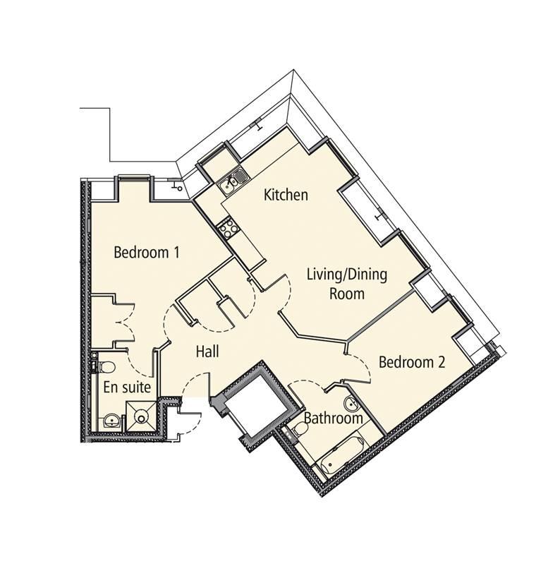 New Build, 12 Elmbridge Manor Floorplan