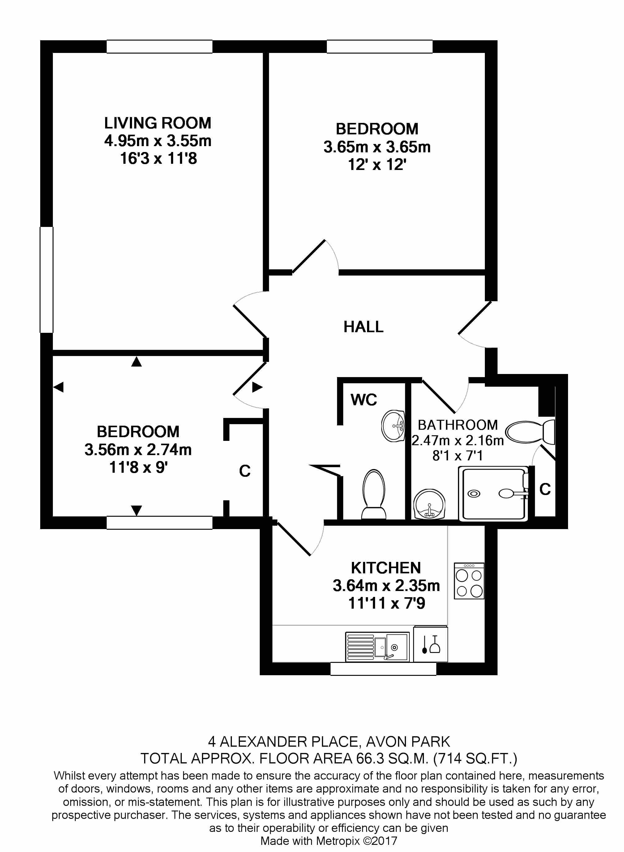 4 Alexander Place Floorplan