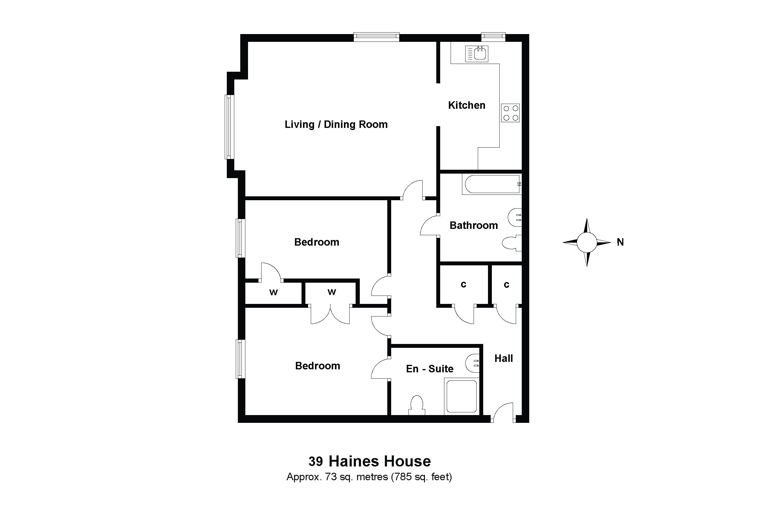39 Haines House Floorplan