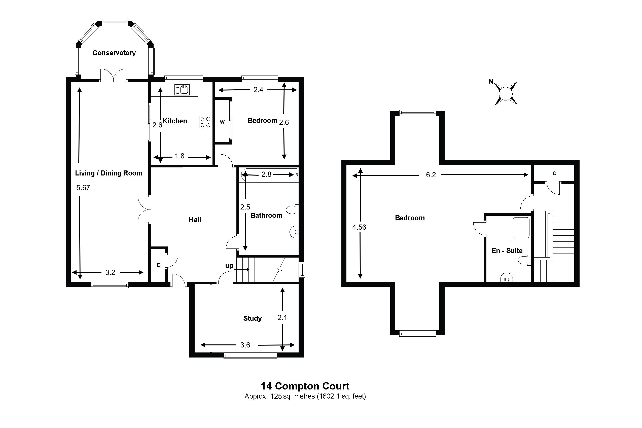 14 Compton Court Floorplan
