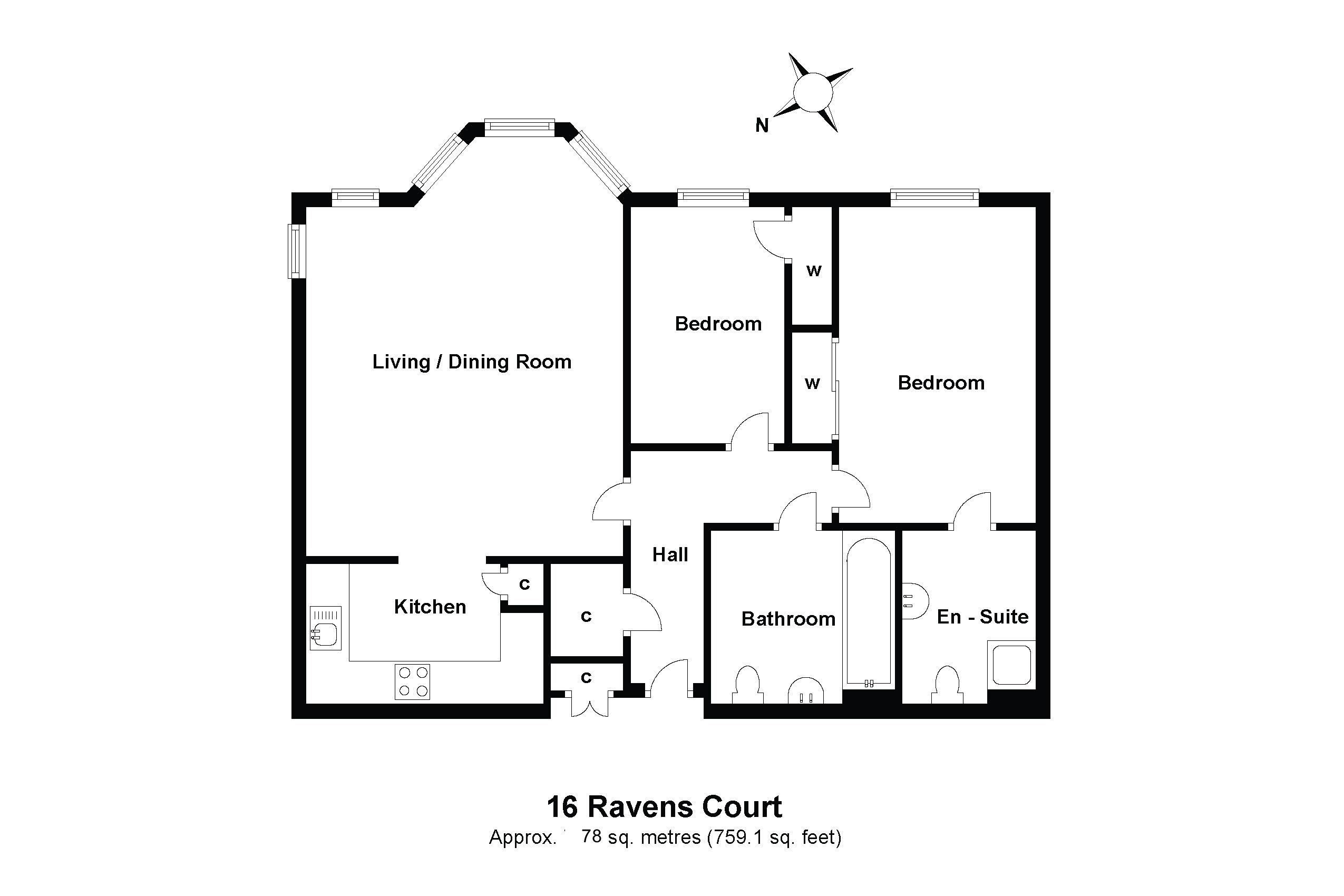16 Ravens Court Floorplan