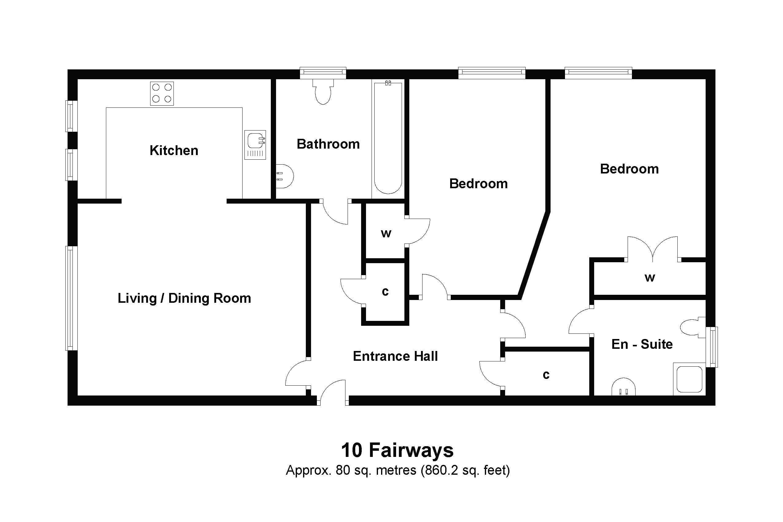 10 The Fairways Floorplan