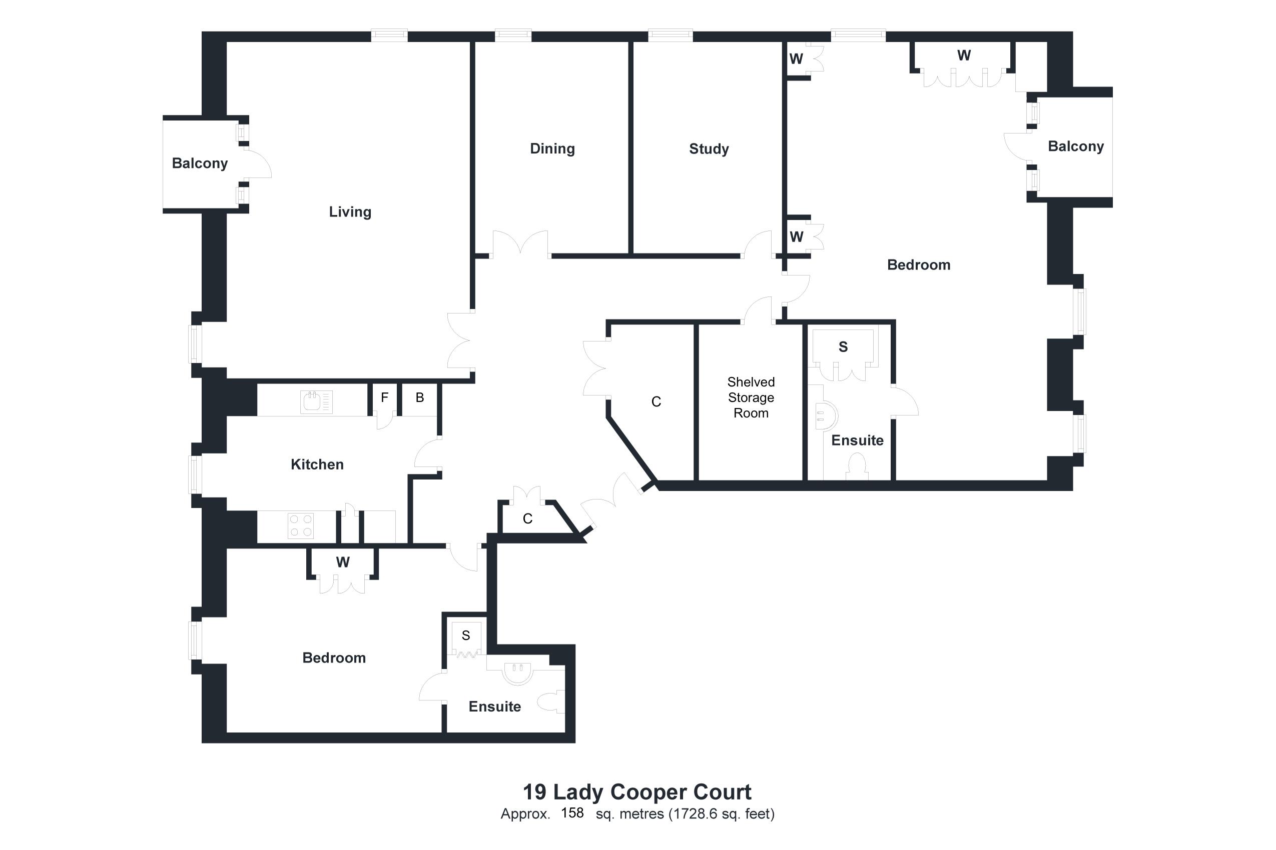 19 Lady Cooper Court Floorplan