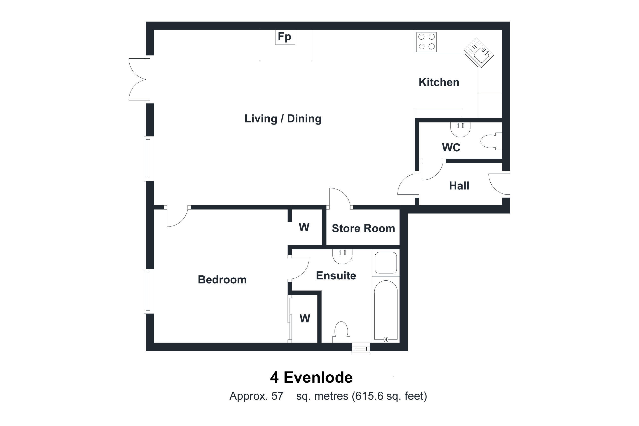 4 Evenlode Floorplan