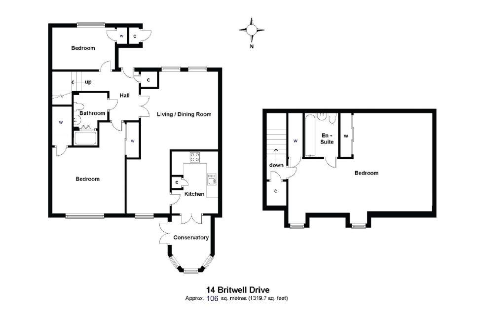 14 Britwell Drive Floorplan
