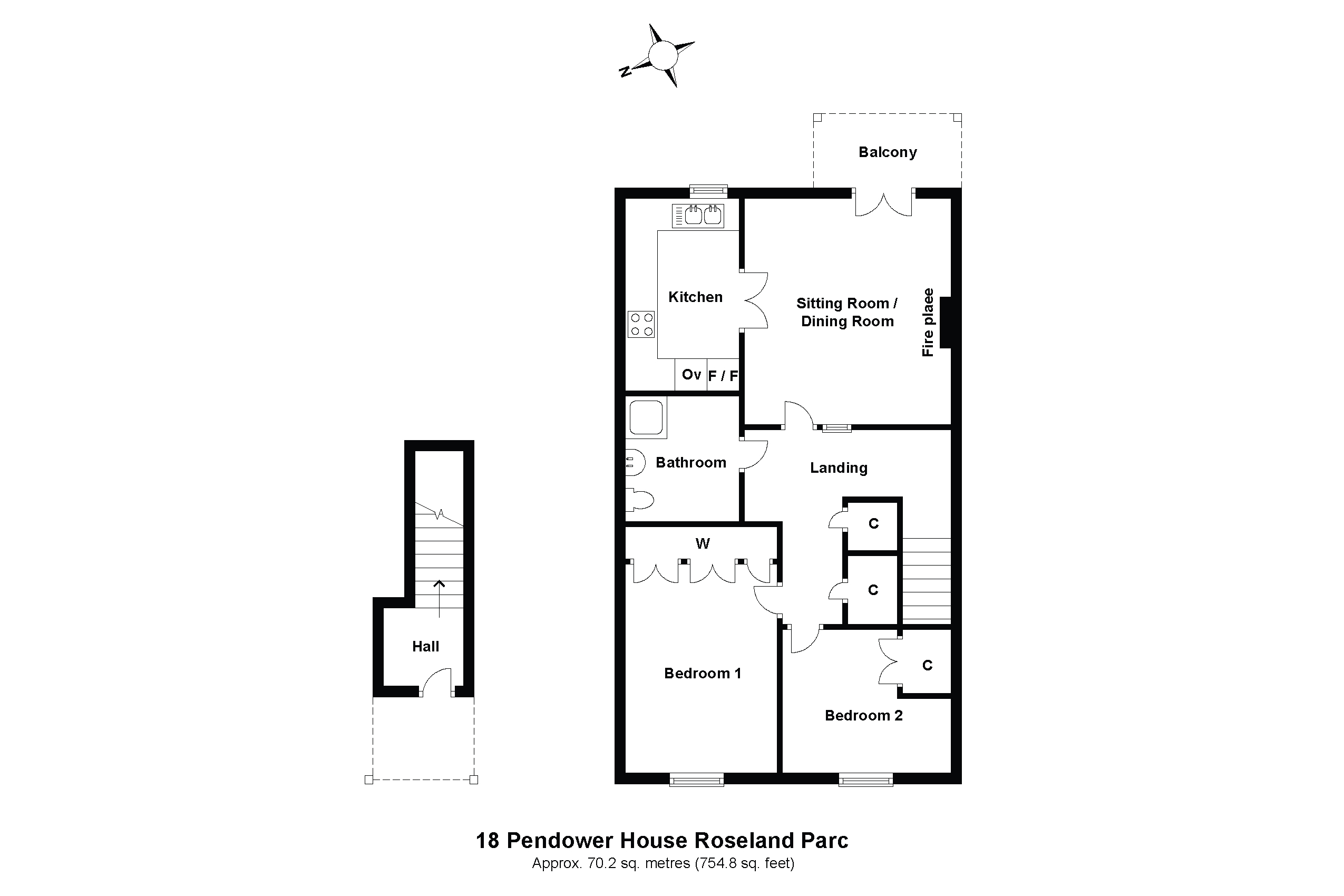 18 Pendower House Floorplan