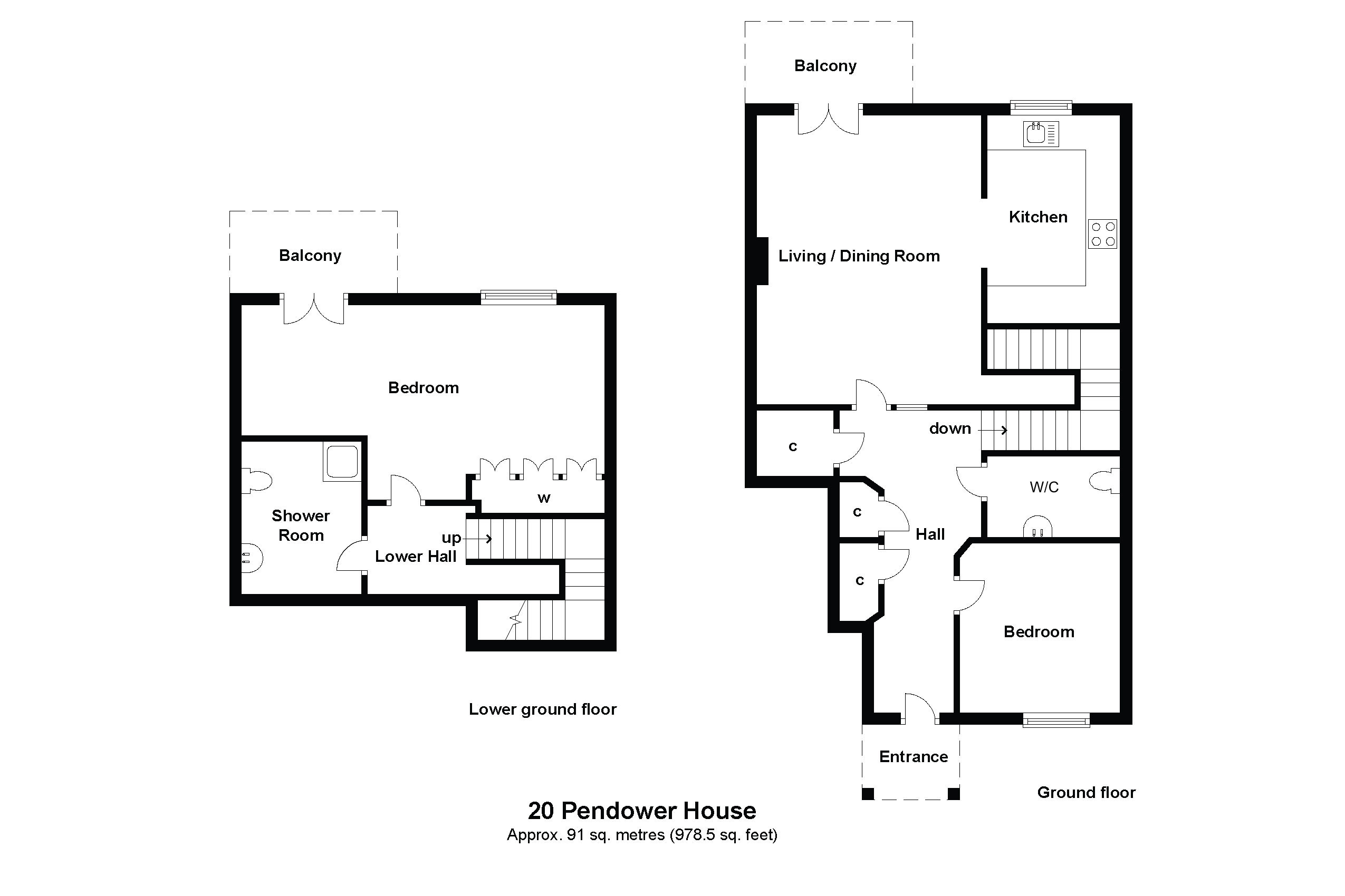 20 Pendower House Floorplan