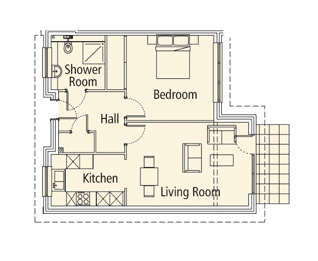 New Build 1 Medway House Floorplan