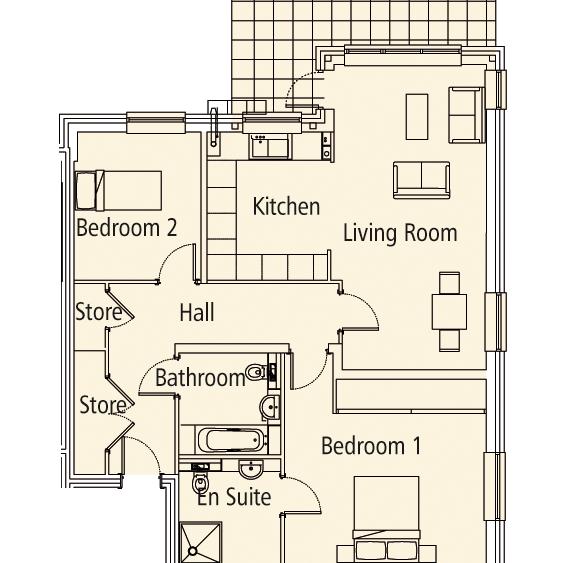 New Build 3 Felcourt House Floorplan