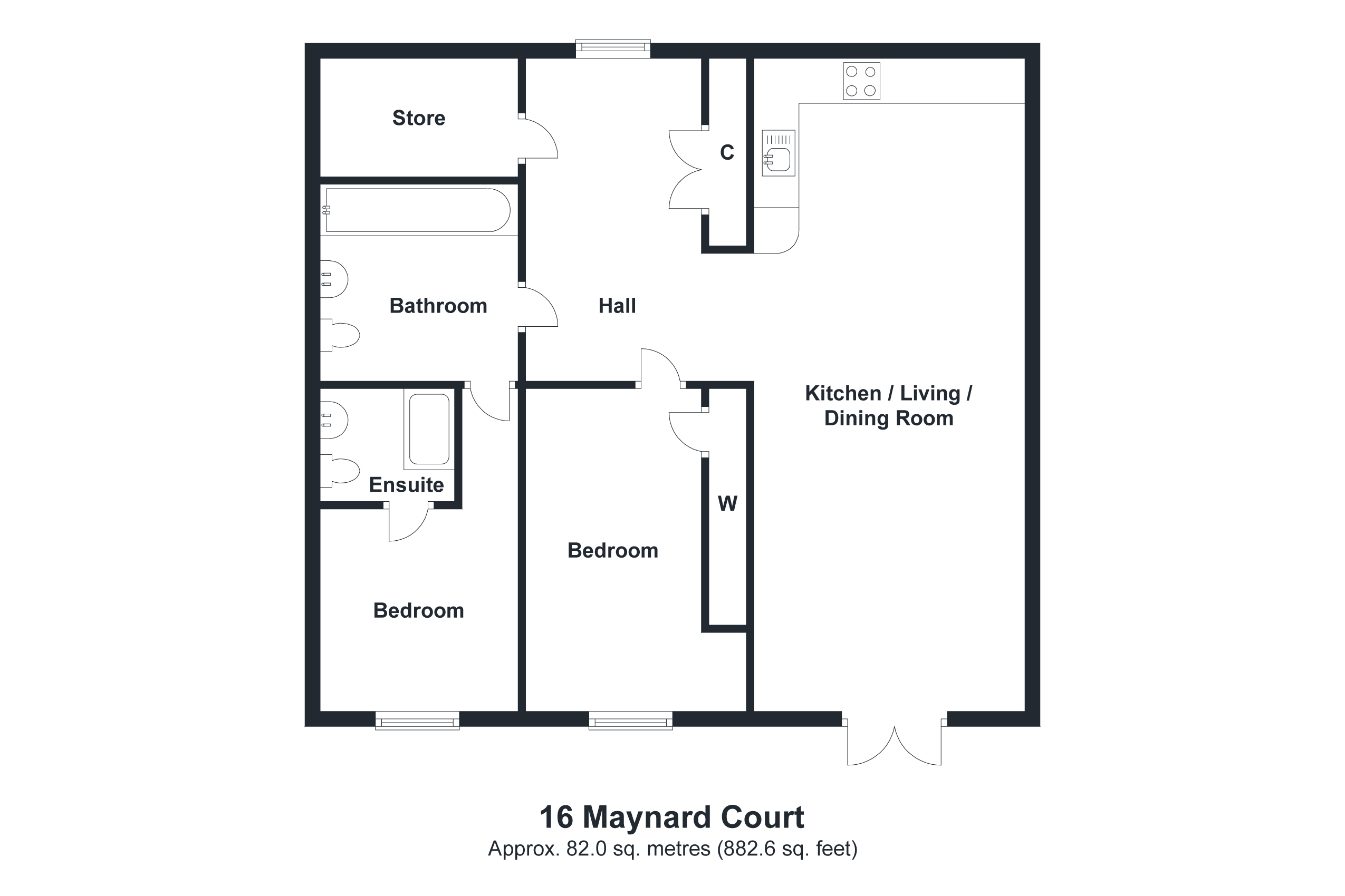 16 Maynard House Floorplan