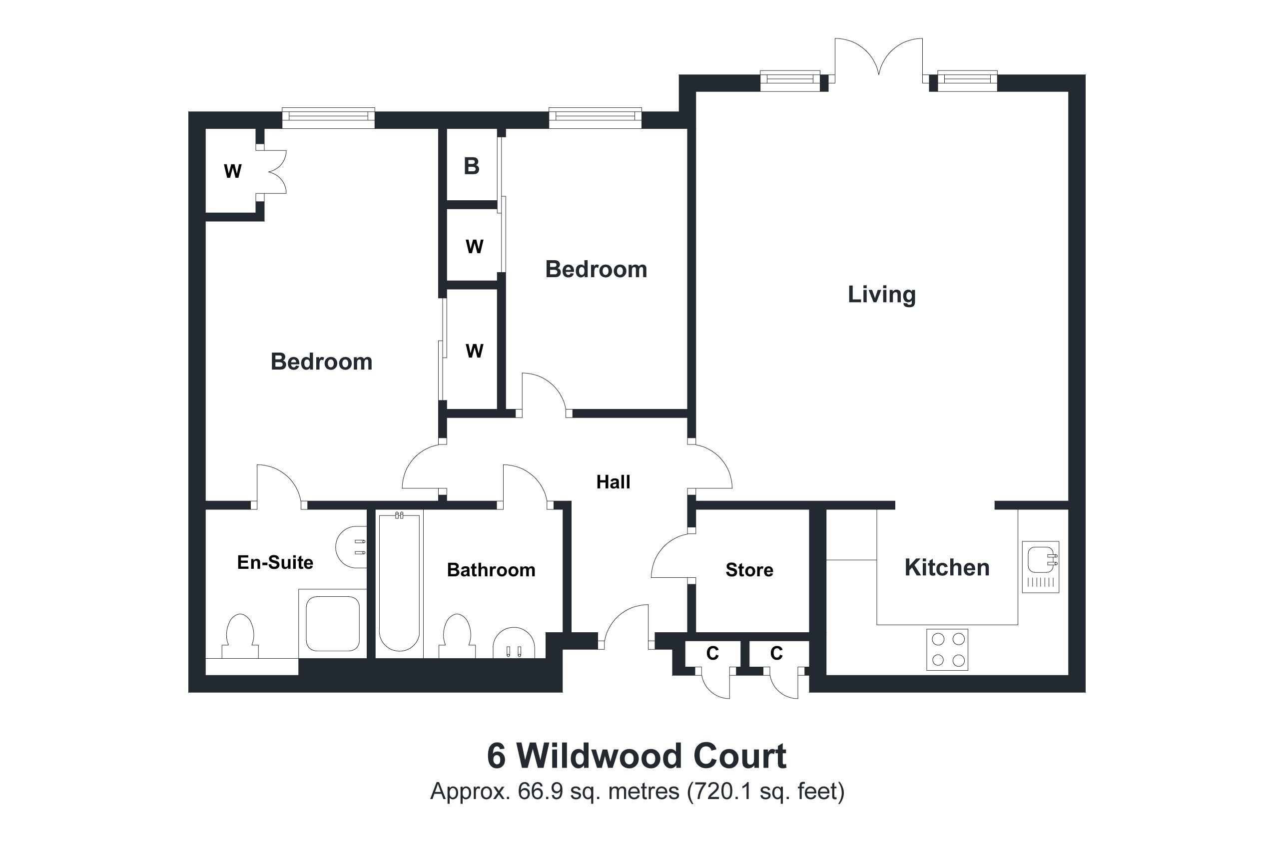 6 Wildwood Court Floorplan