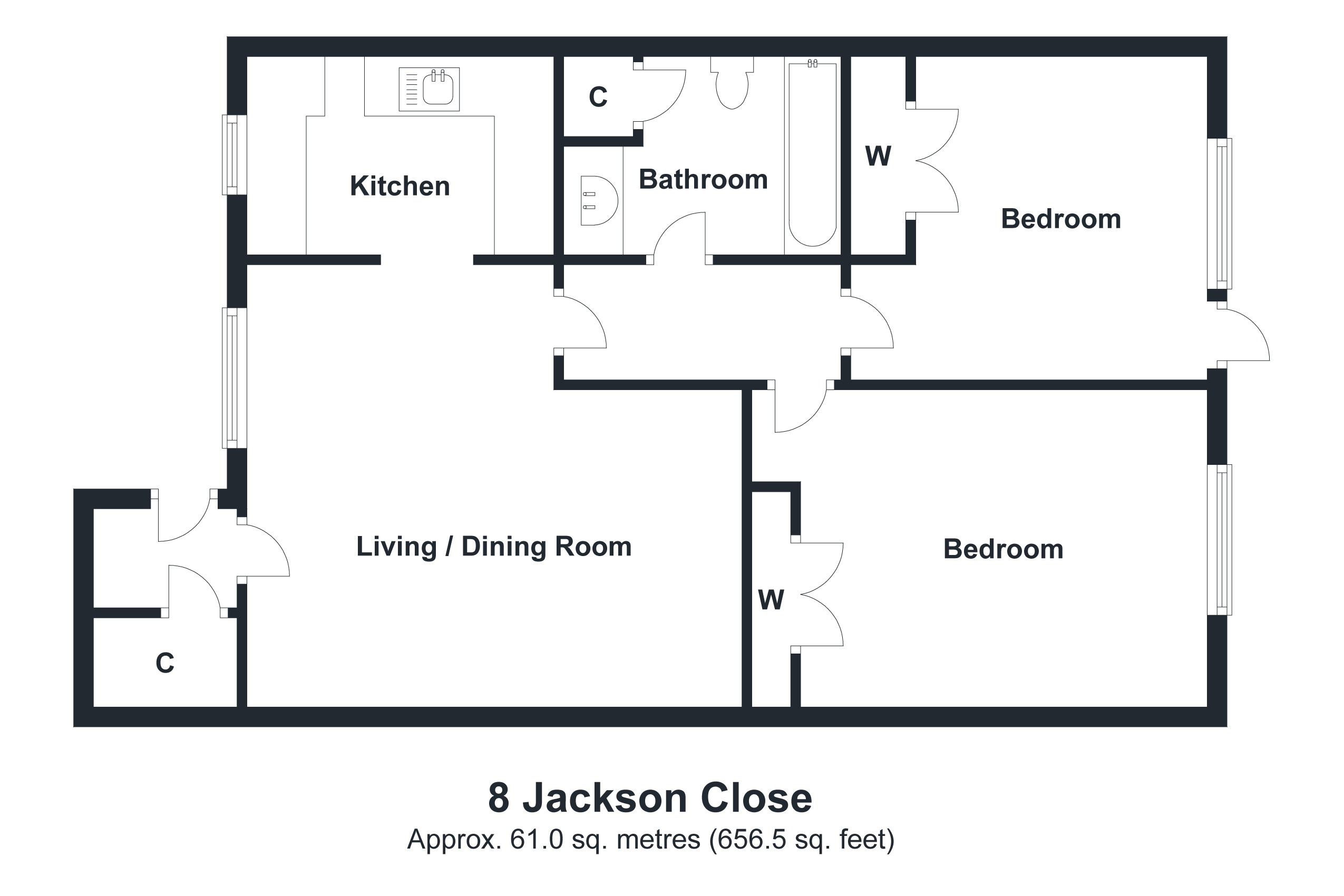 8 Jackson Close Floorplan