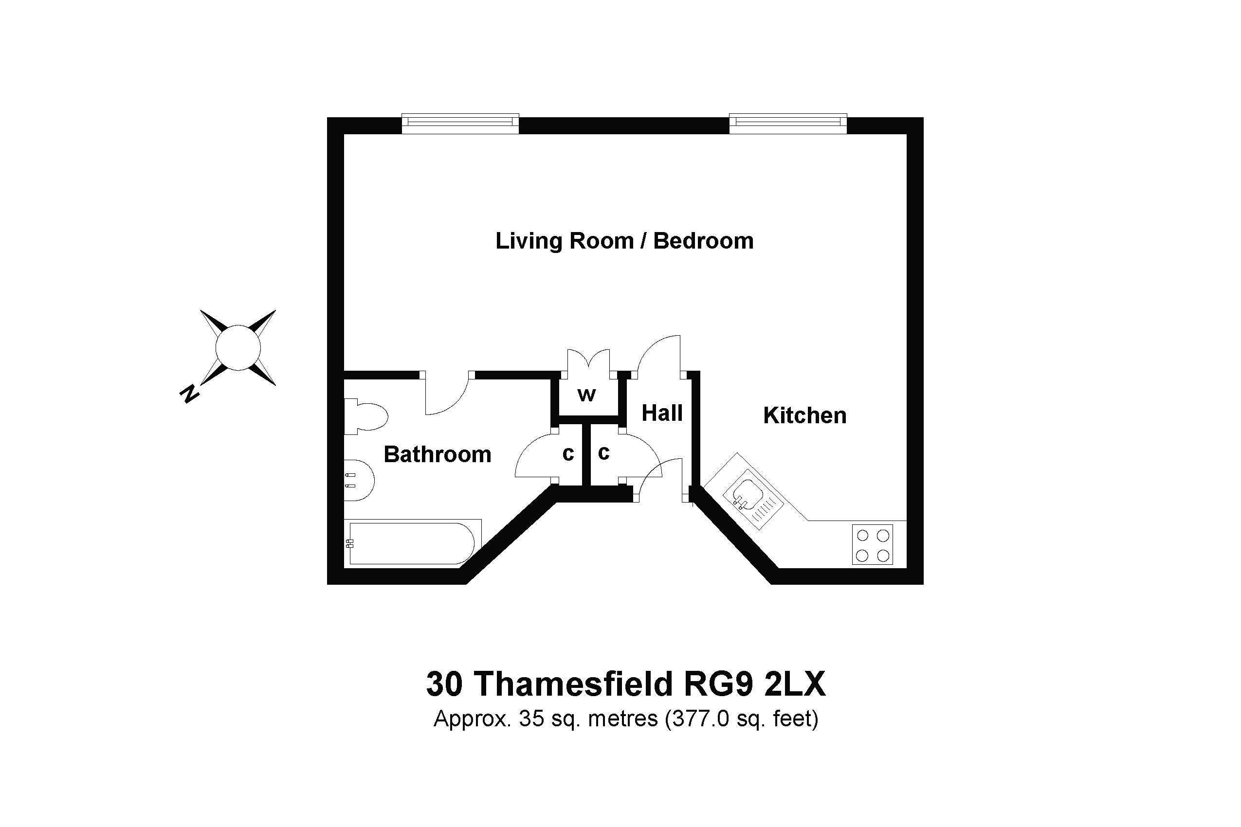 30 Derwent Floorplan