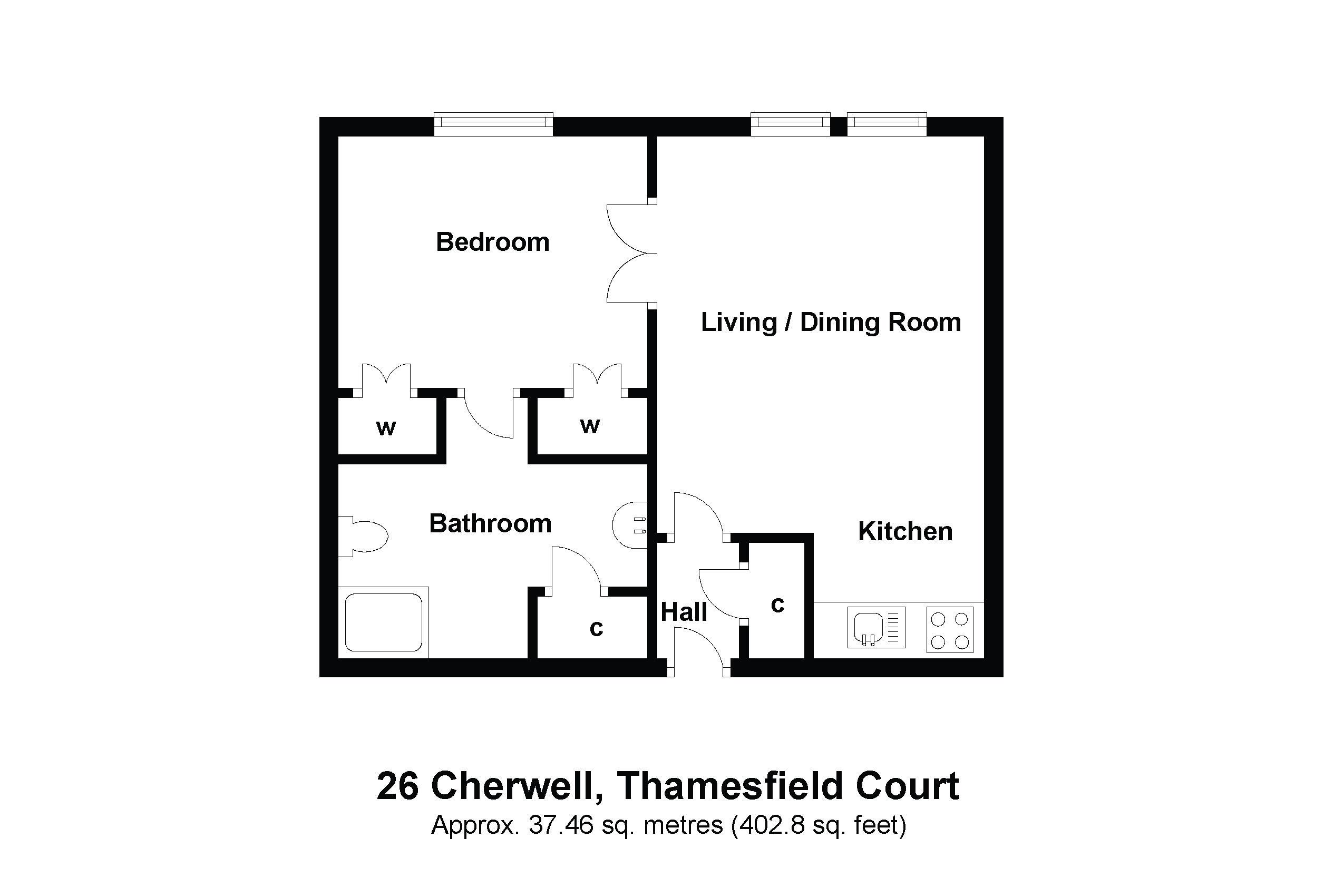26 Cherwell Floorplan