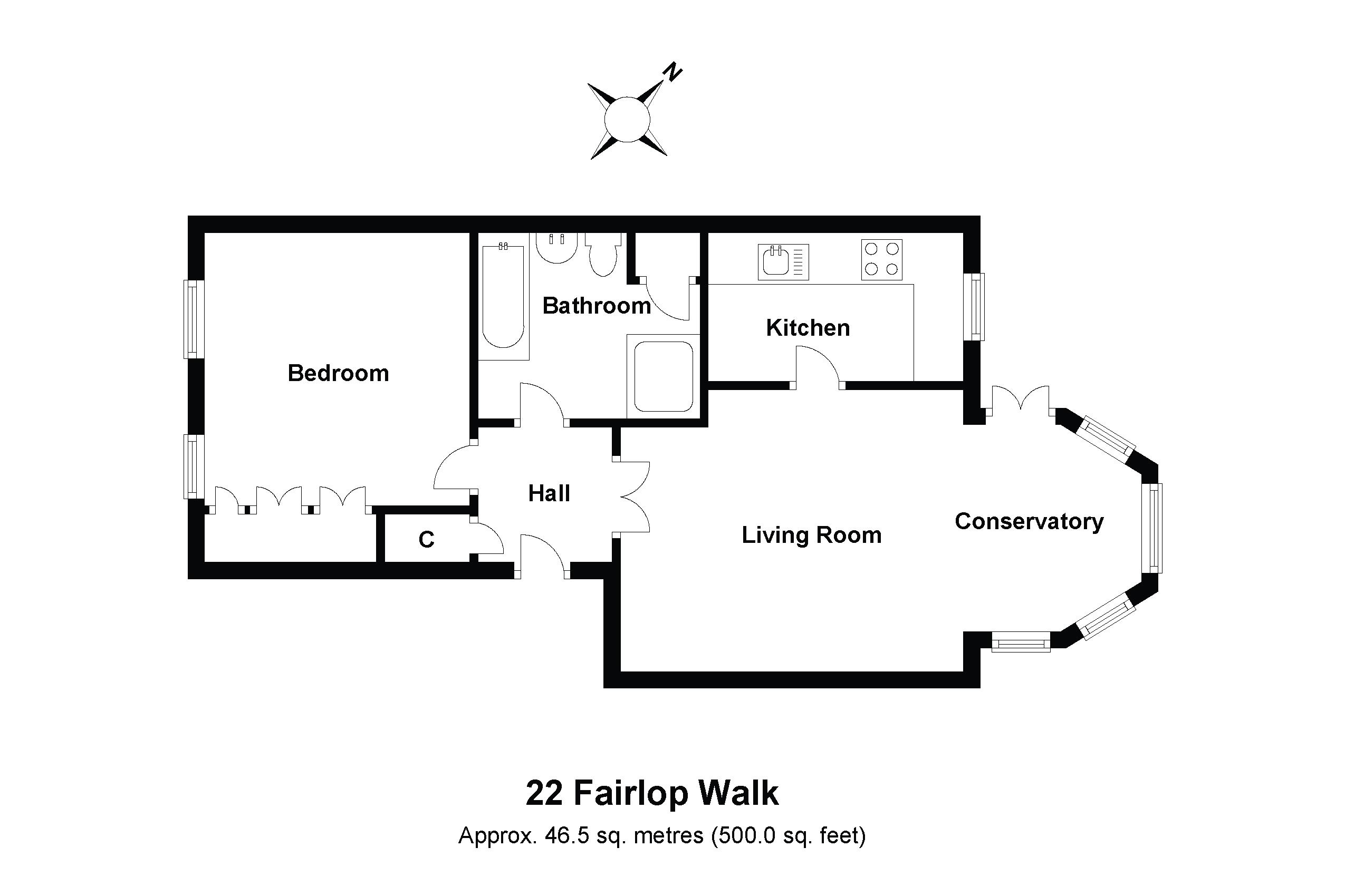 22 Fairlop Walk Floorplan