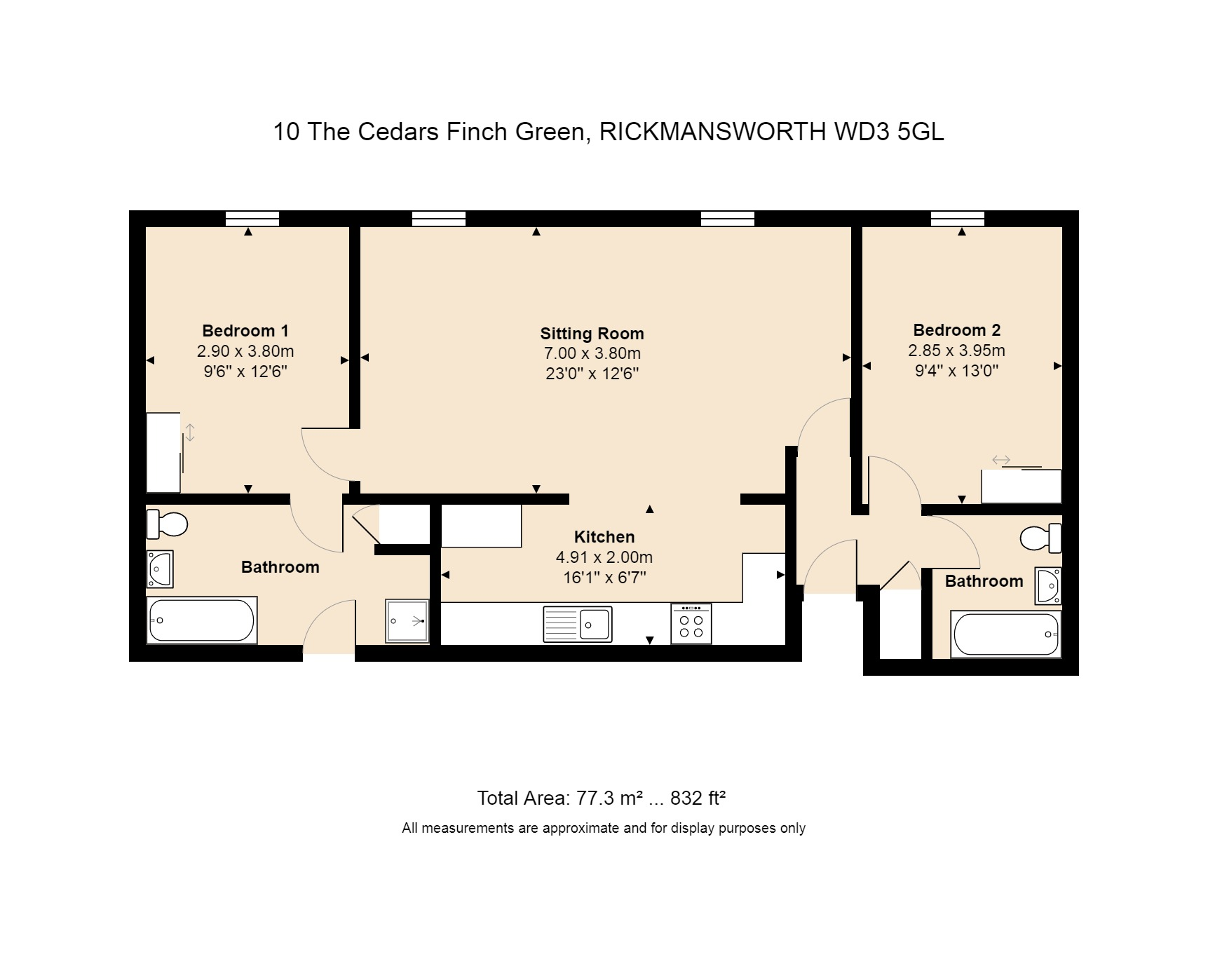 10 The Cedars Floorplan