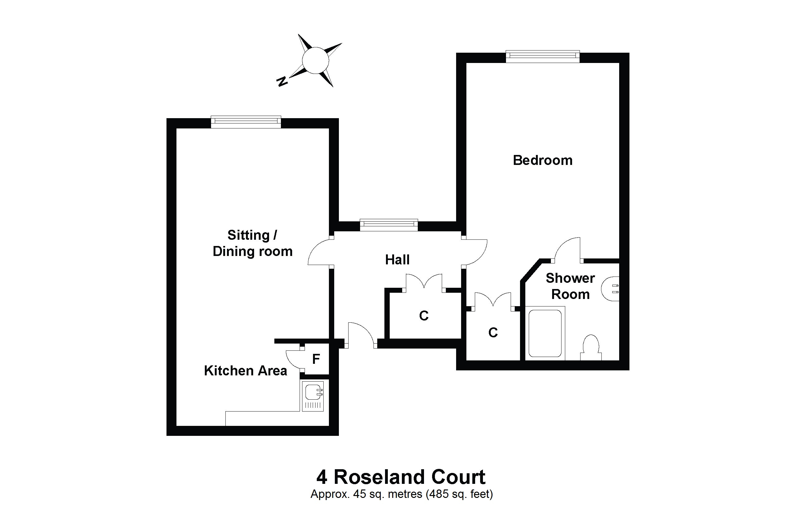 4 Roseland Court Floorplan