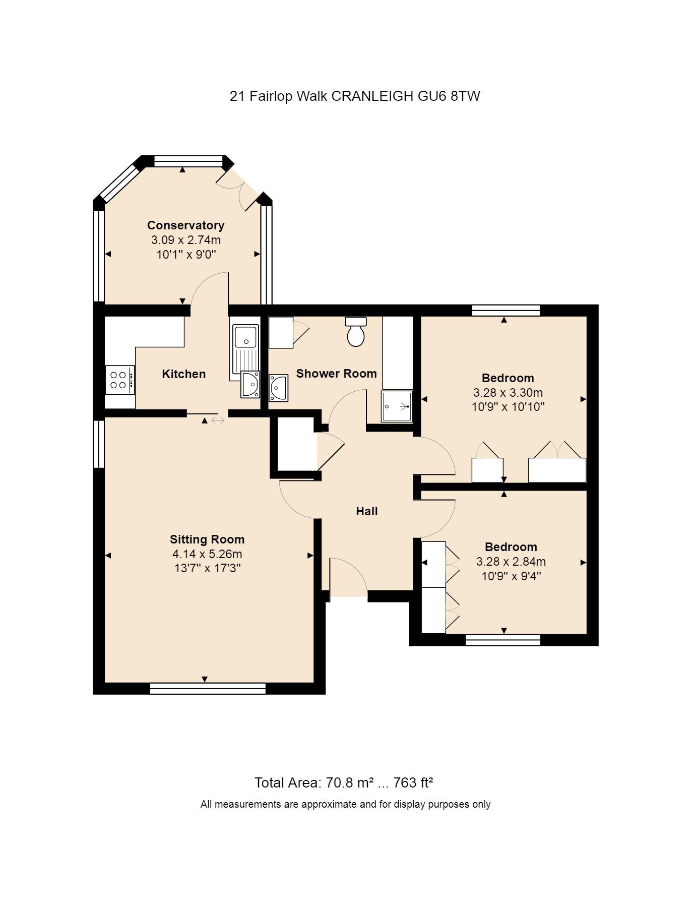 21 Fairlop Walk Floorplan