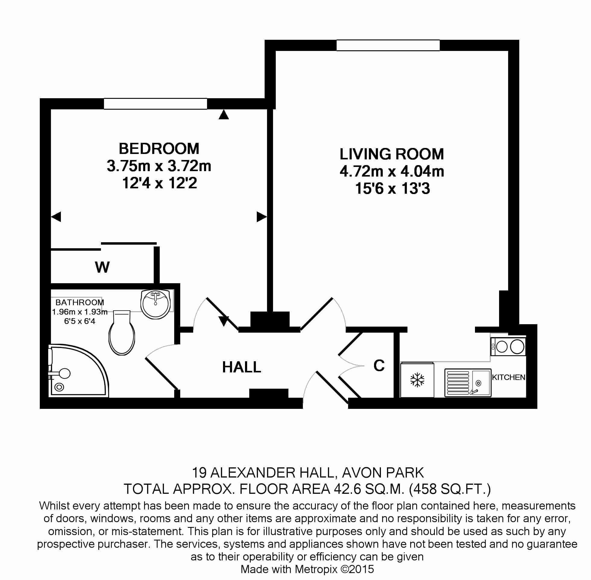 19 Alexander Hall Floorplan
