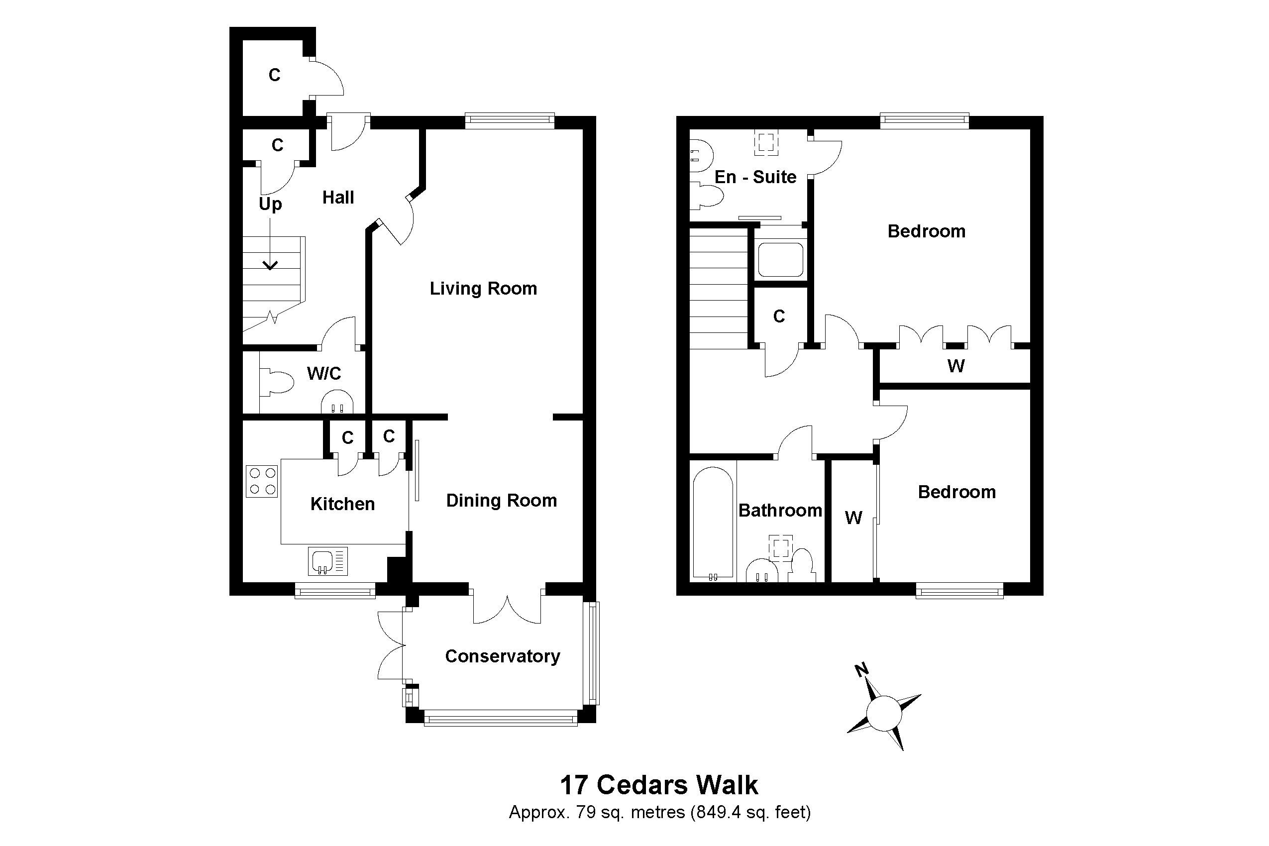 17 Cedars Walk Floorplan