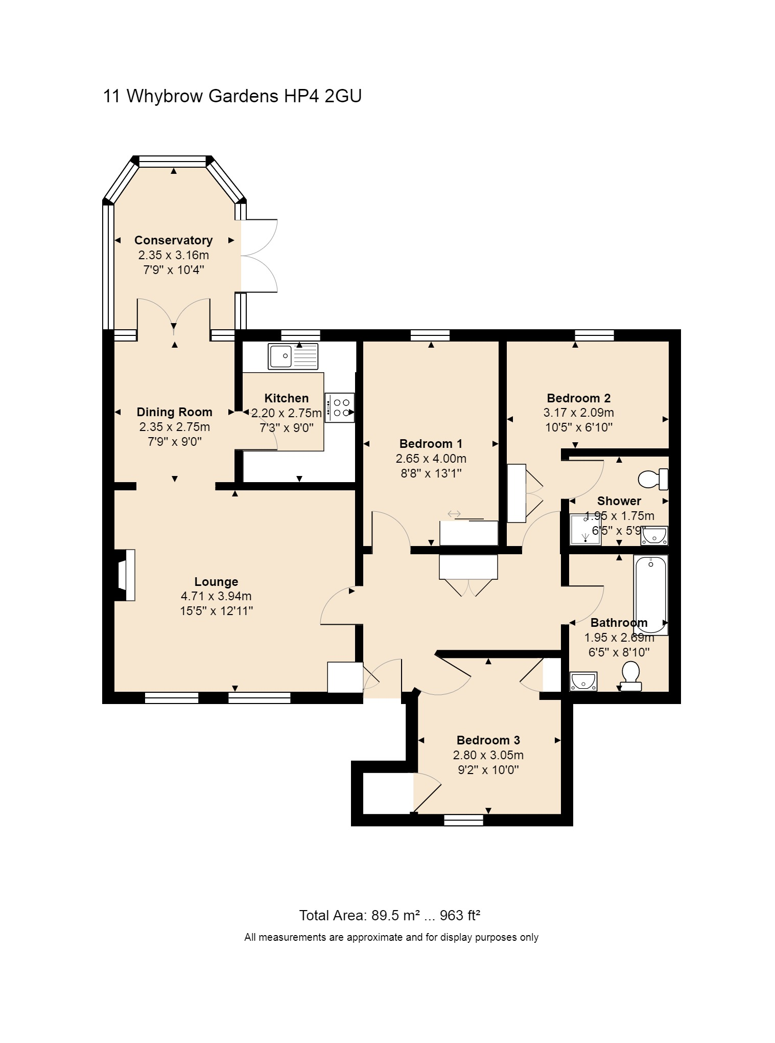 11 Whybrow Gardens Floorplan