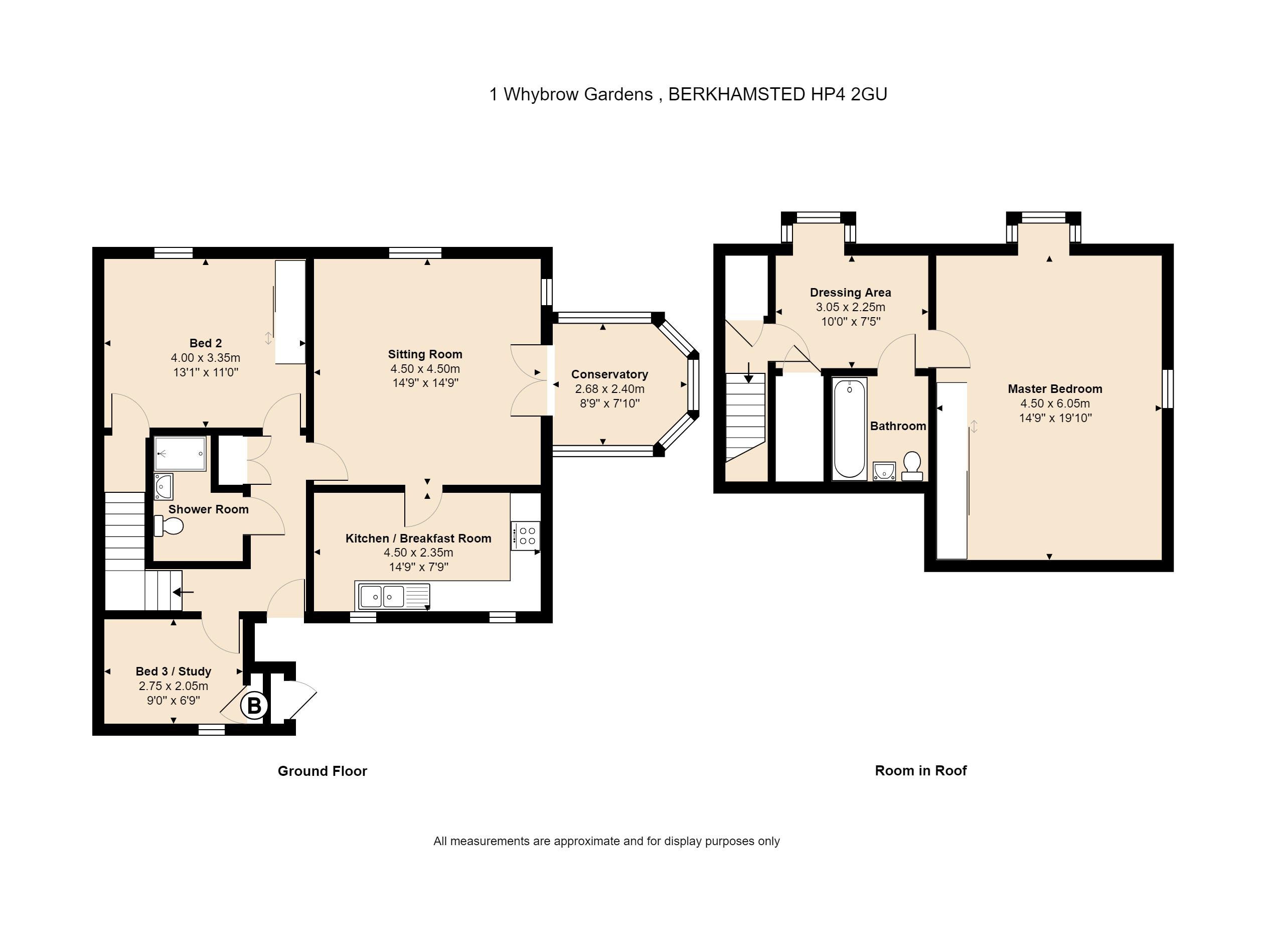 1 Whybrow Gardens Floorplan