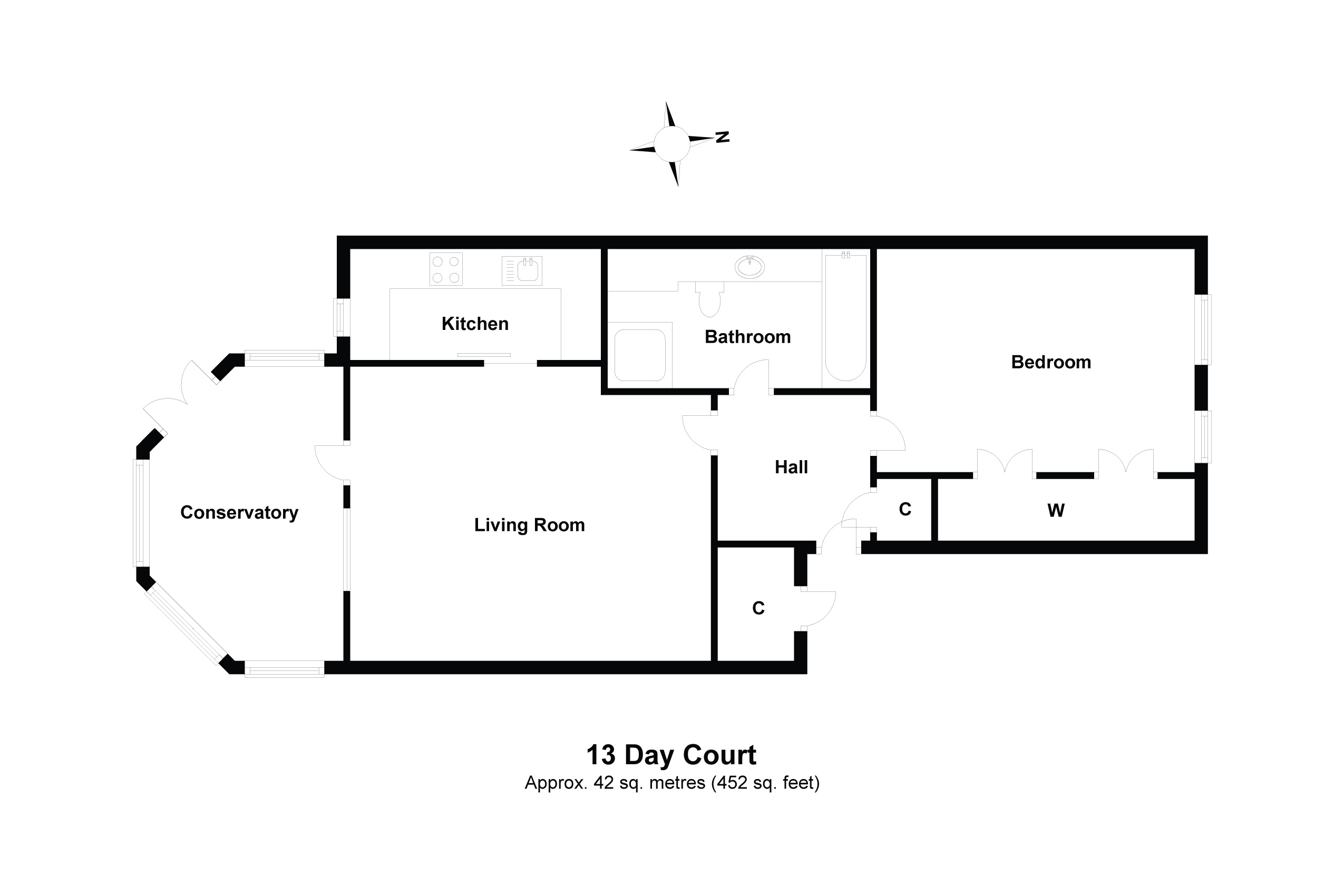 13 Day Court Floorplan