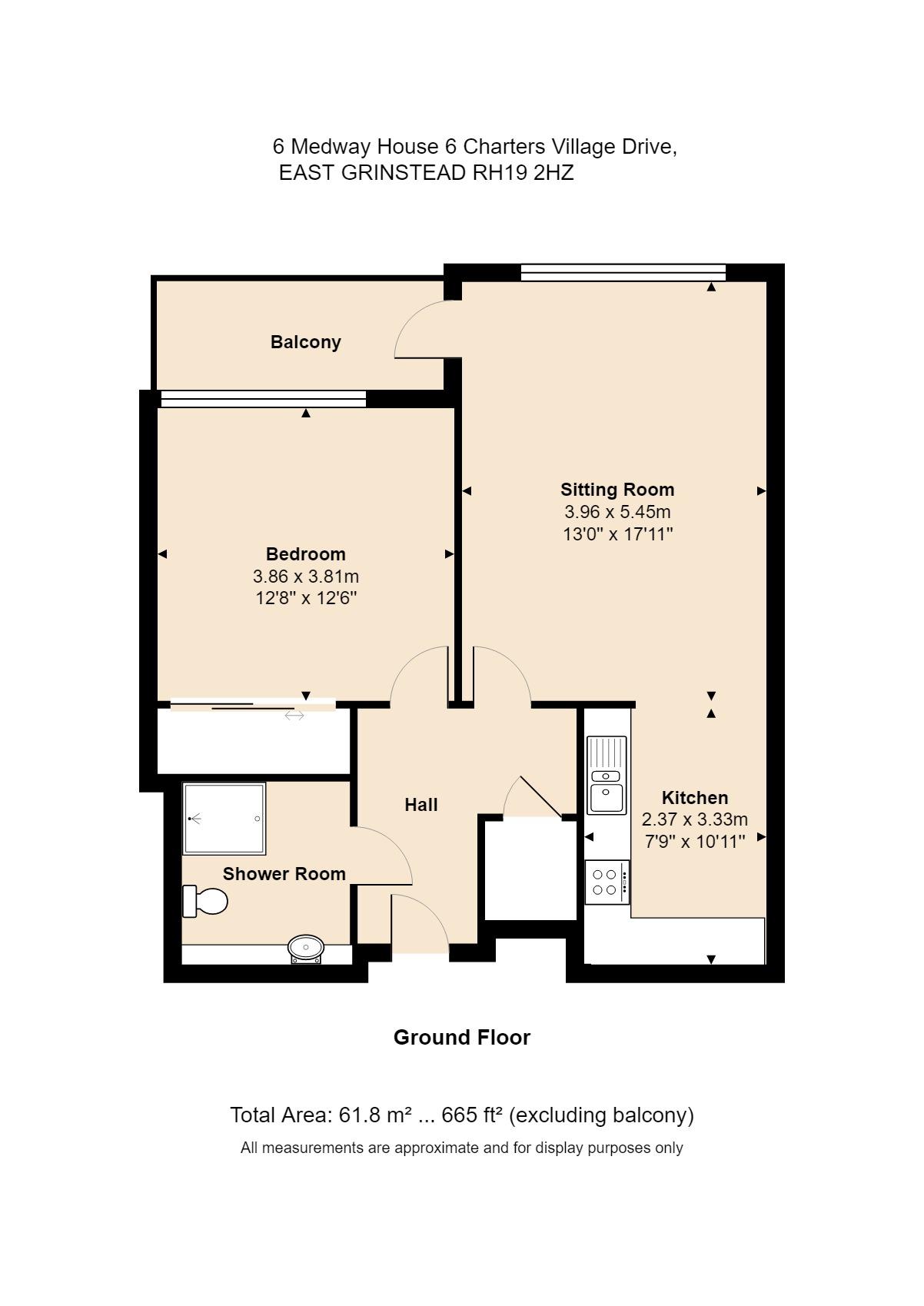 6 Medway House Floorplan