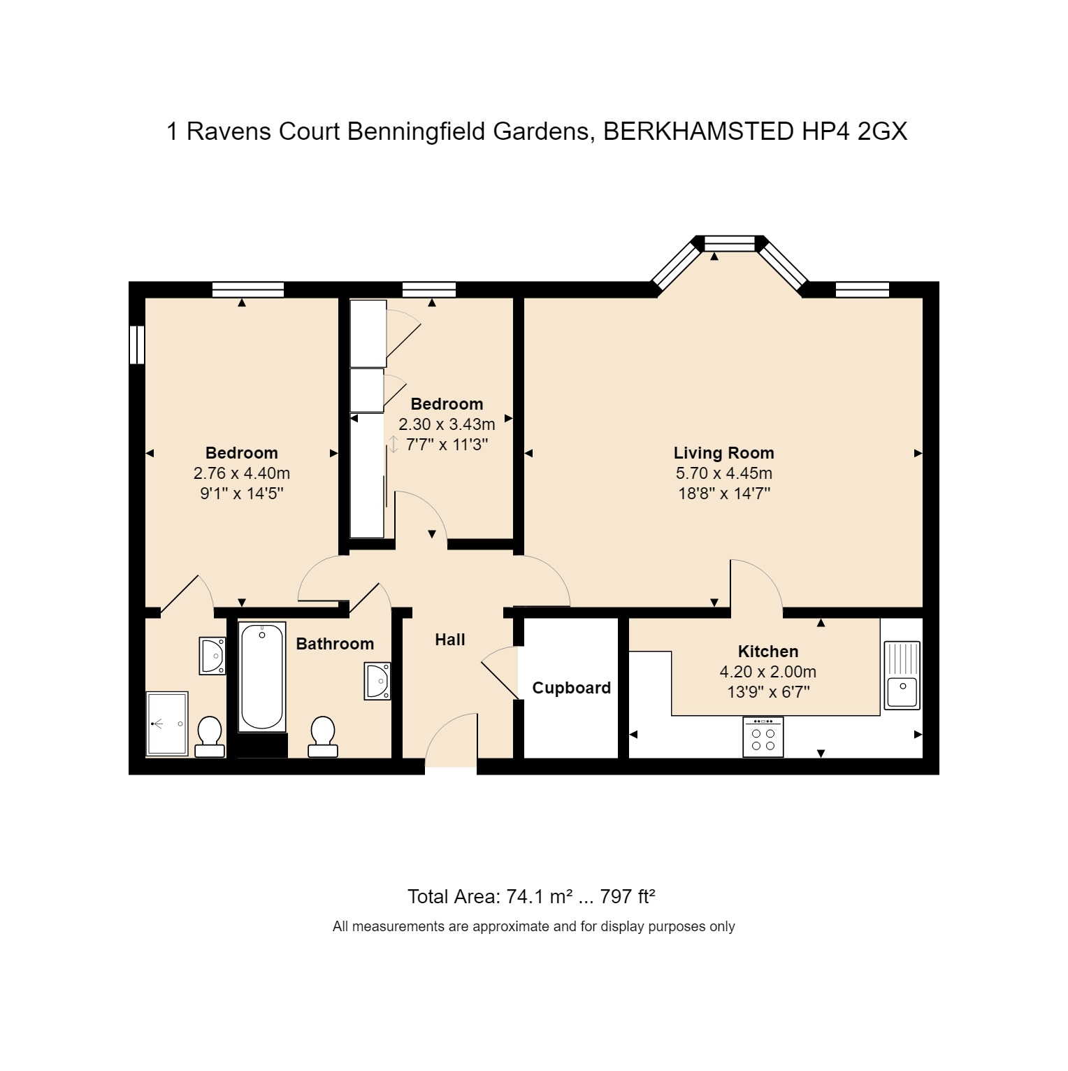 1 Ravens Court Floorplan