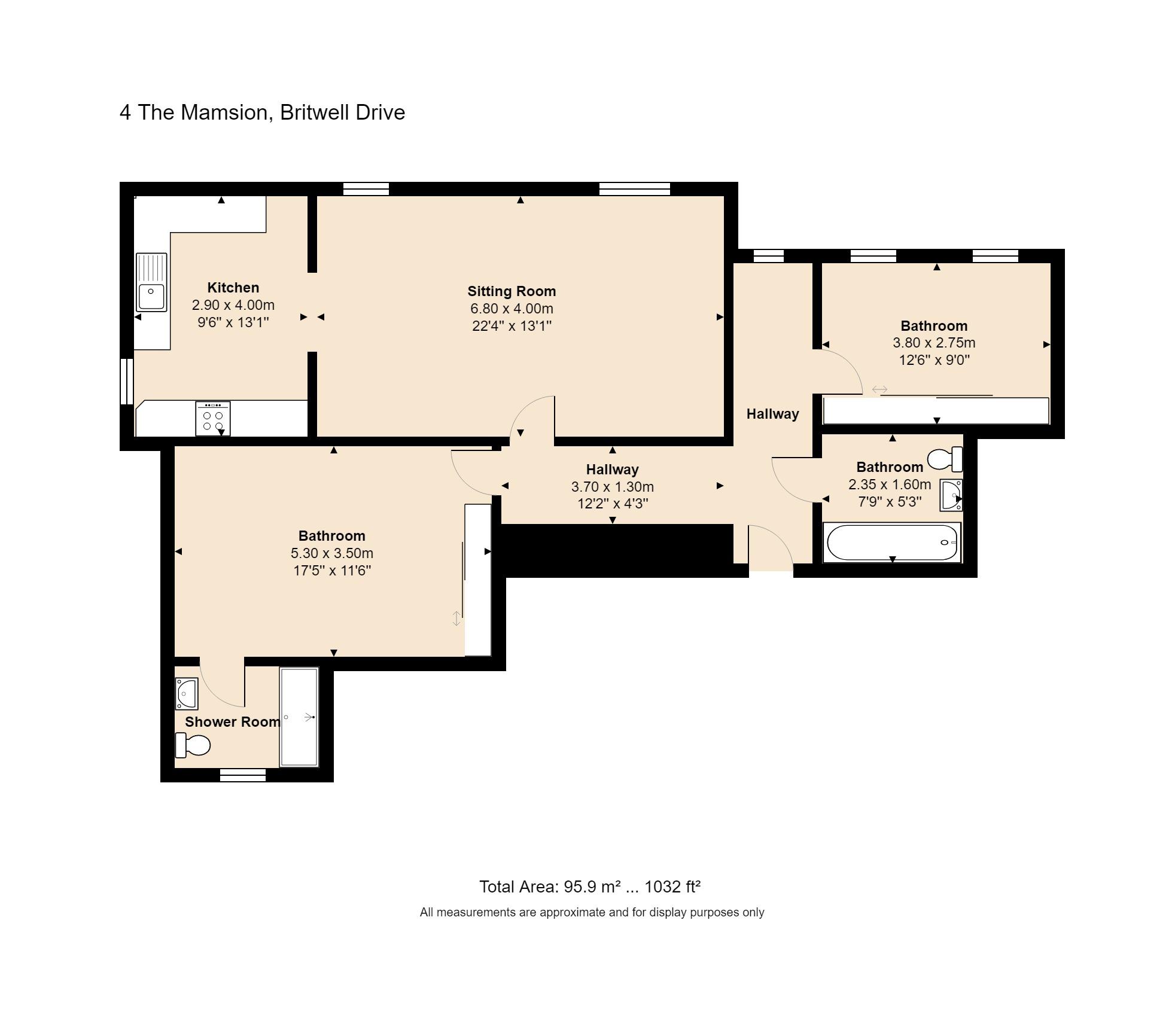 4 The Mansion Floorplan