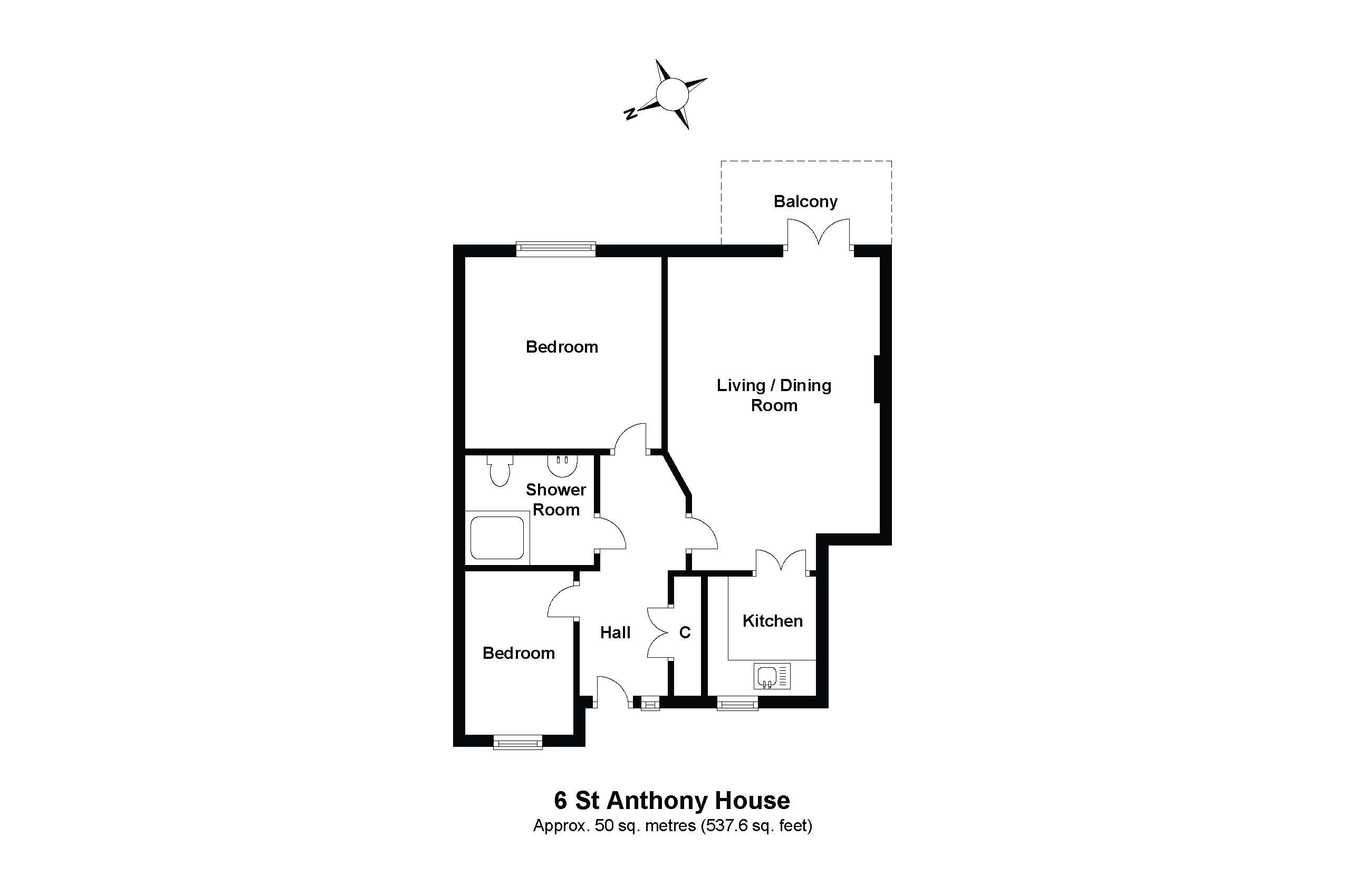 6 St Anthony House Floorplan