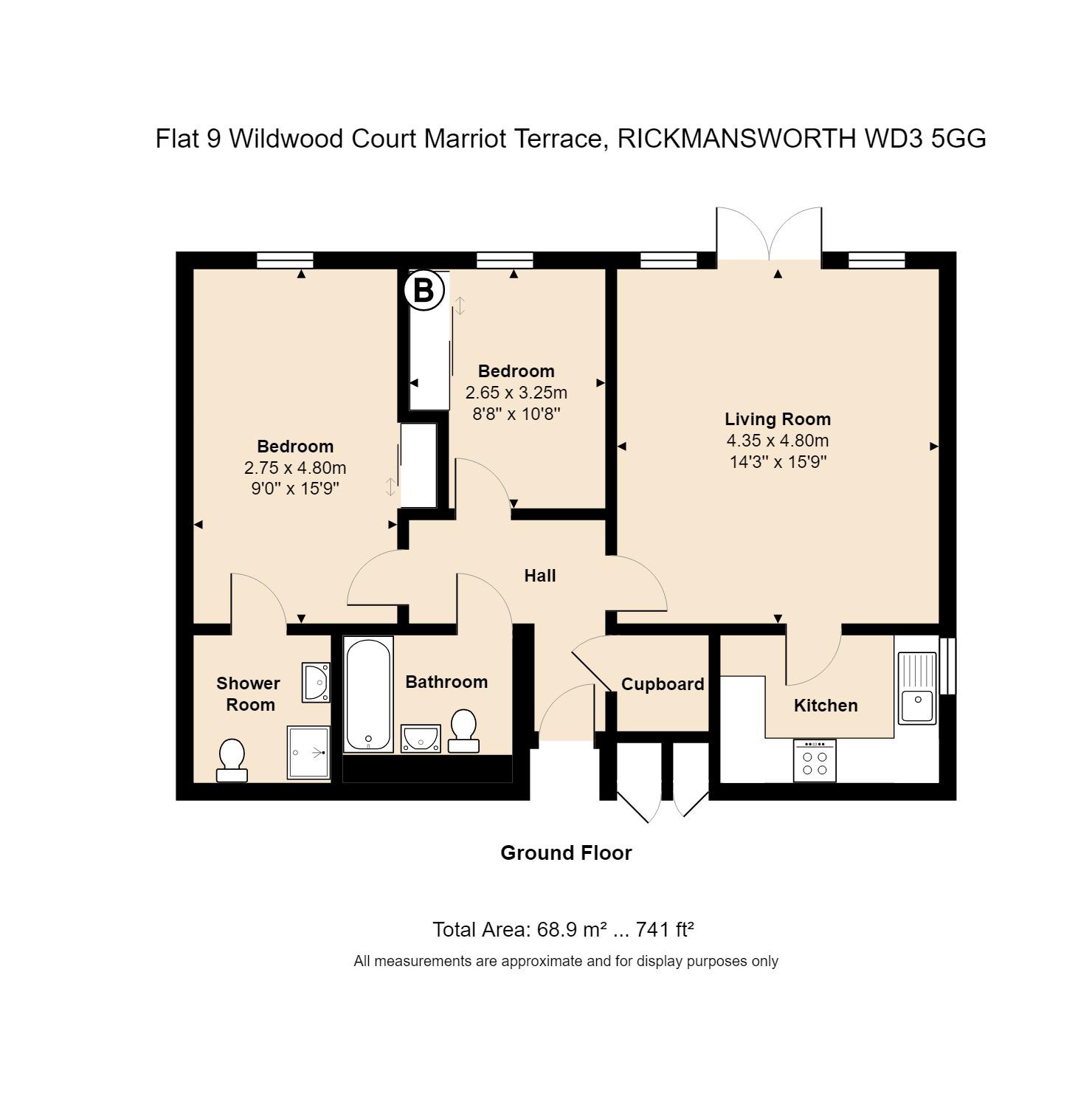 9 Wildwood Court Floorplan
