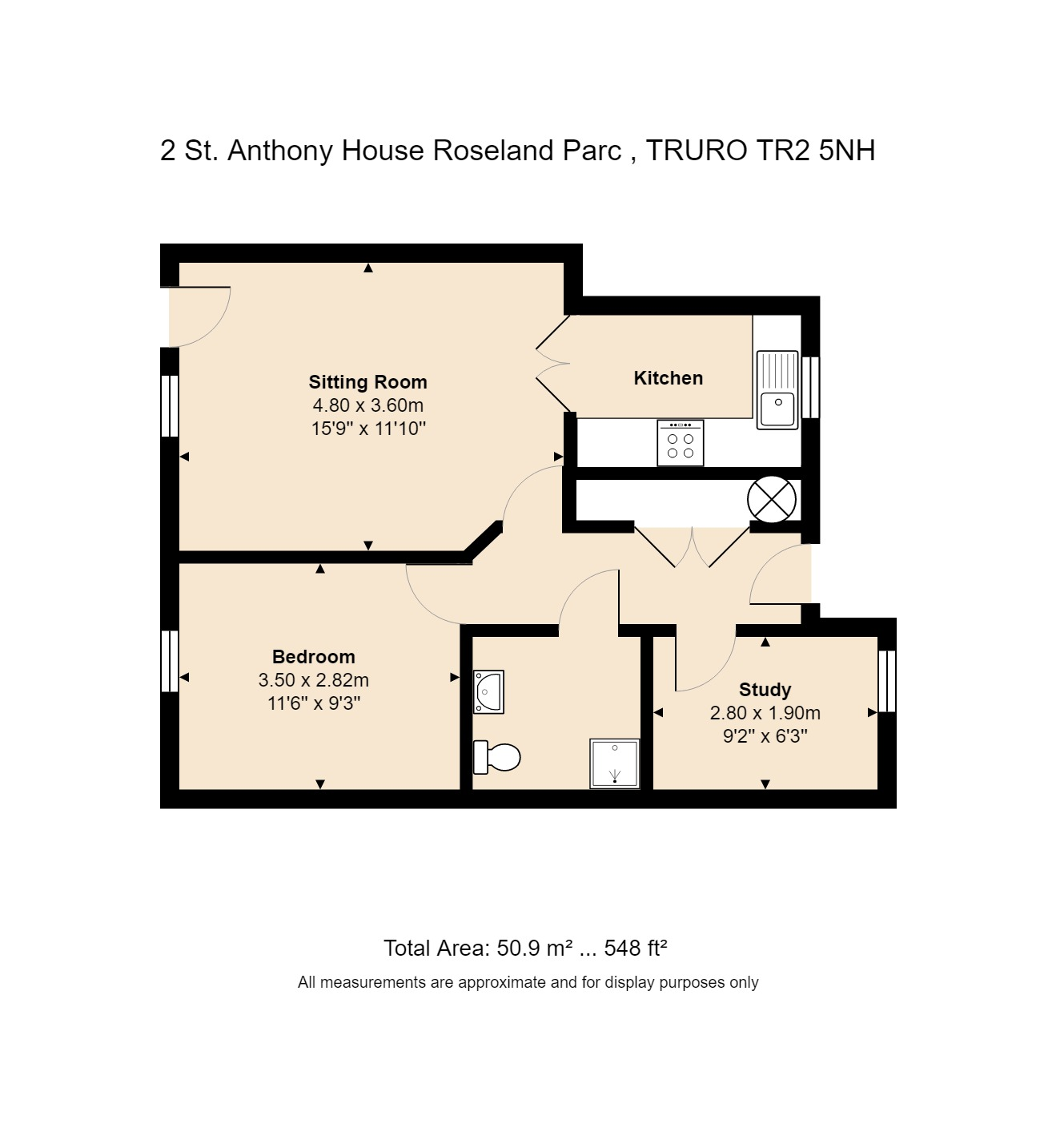 2 St Anthony House Floorplan