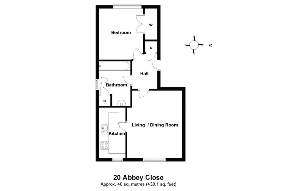 20 Abbey Close Floorplan