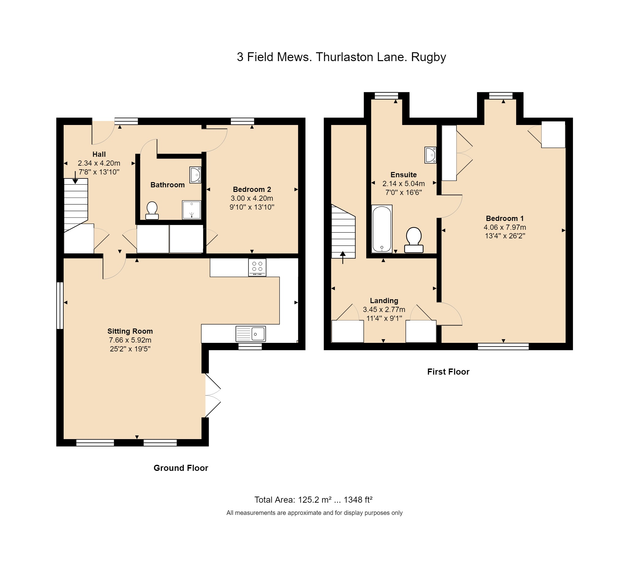 3 Field Mews Floorplan