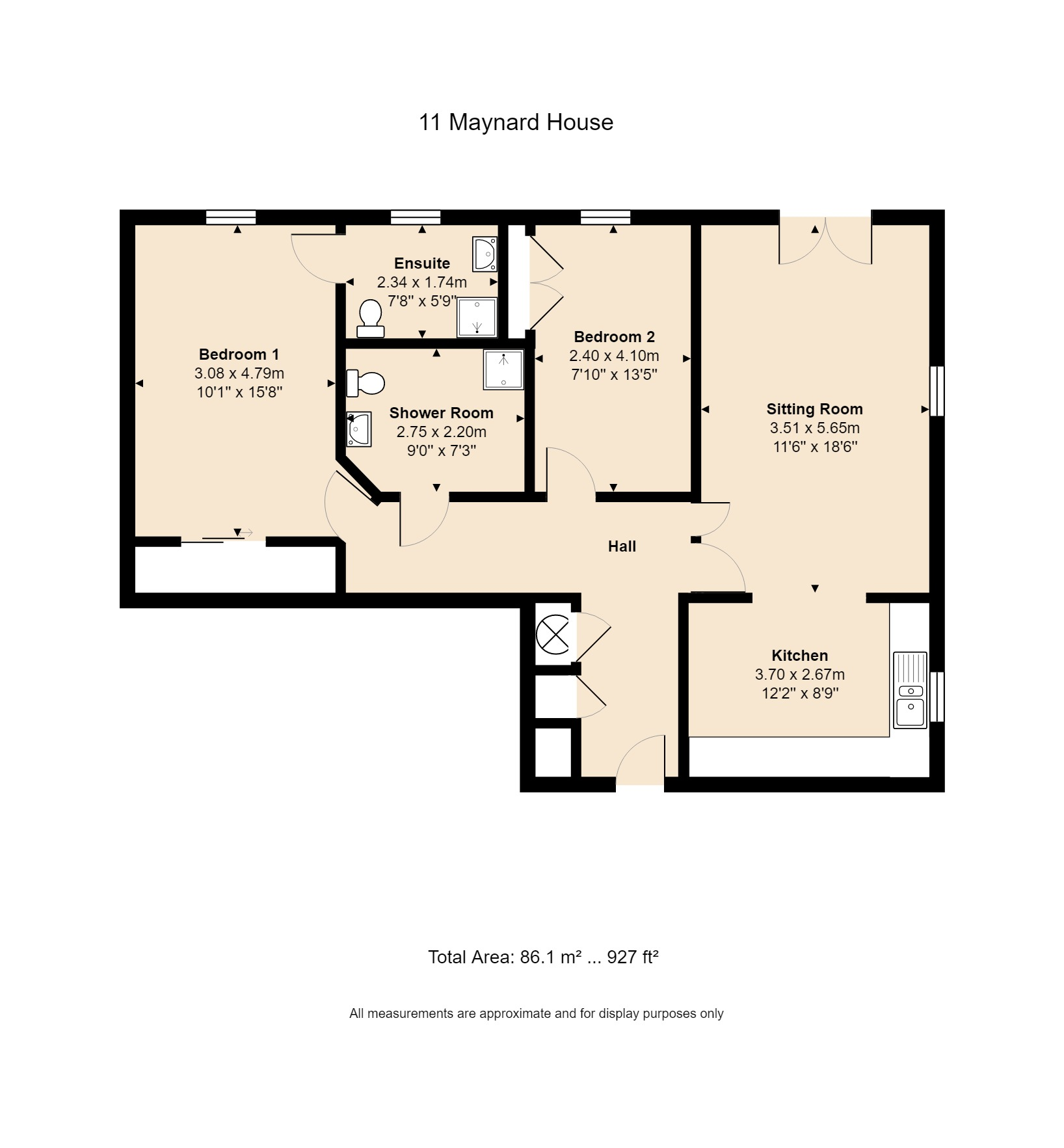 11 Maynard House Floorplan