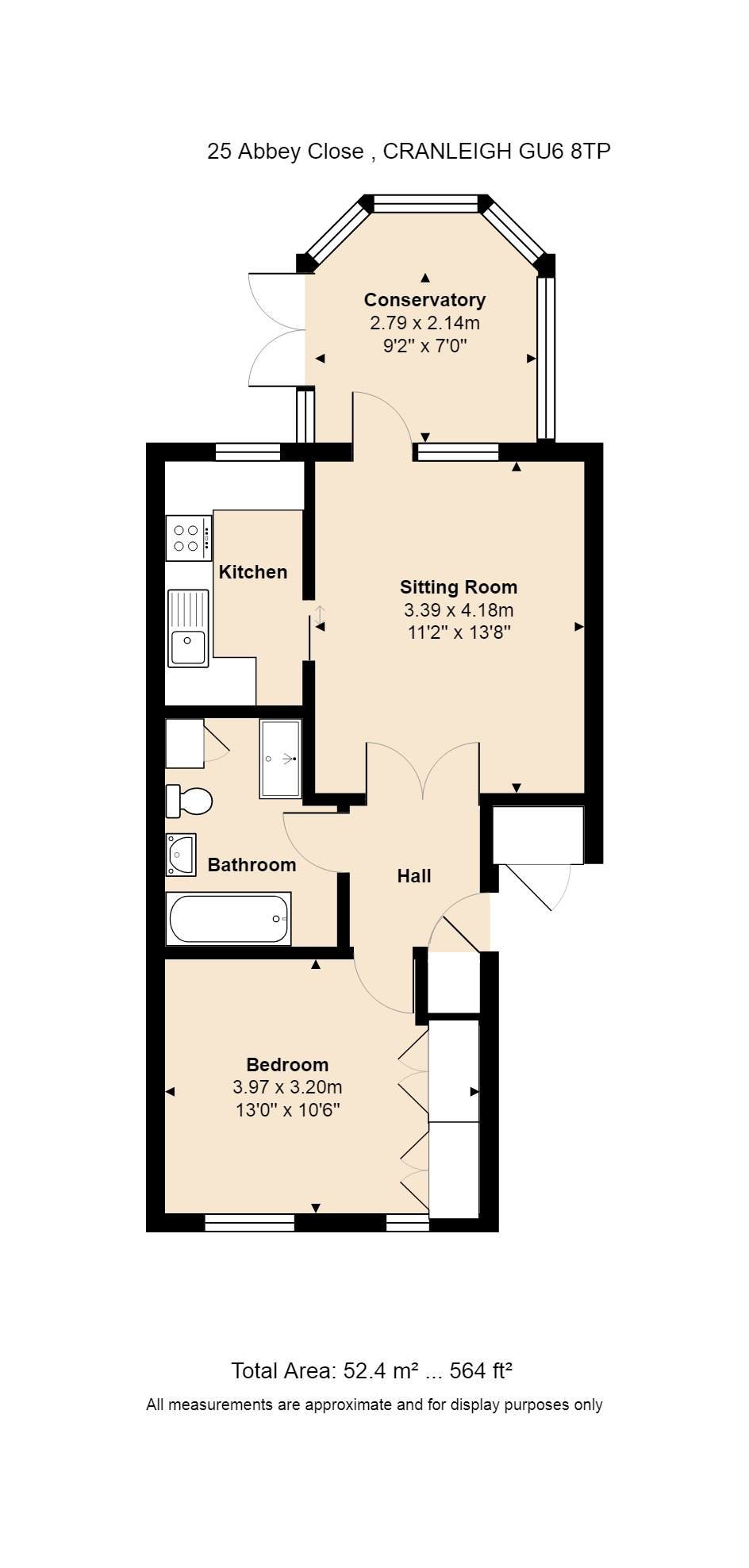 25 Abbey Close Floorplan