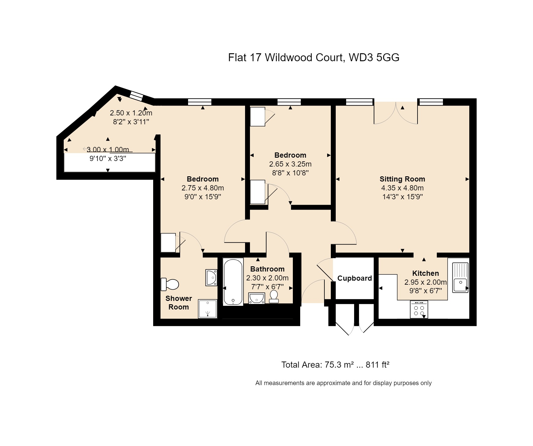 17 Wildwood Court Floorplan
