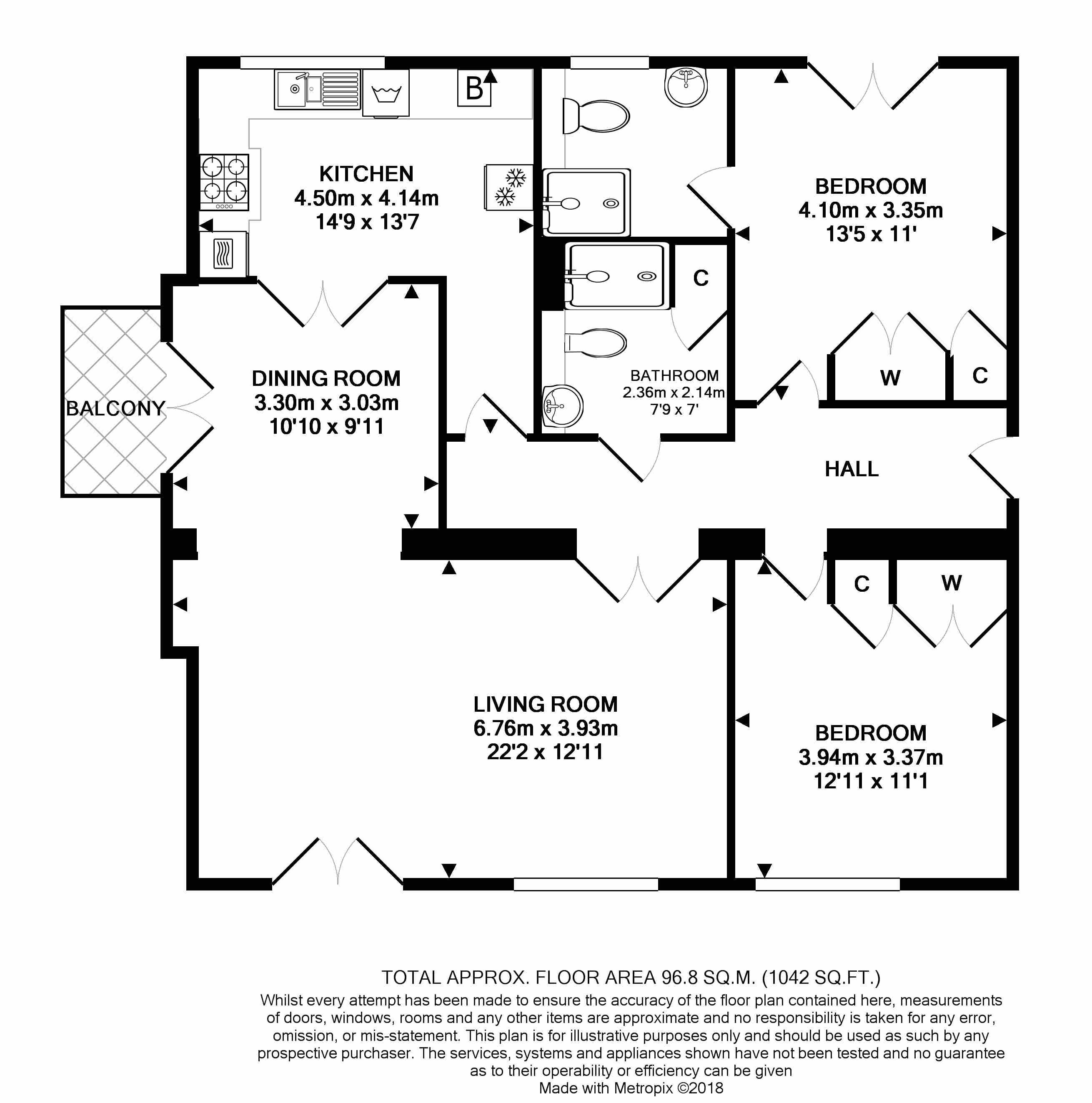 3 Kingfisher Court Floorplan