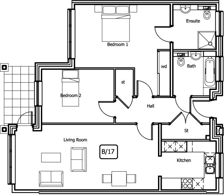New Build 2 Bush Davies House Floorplan