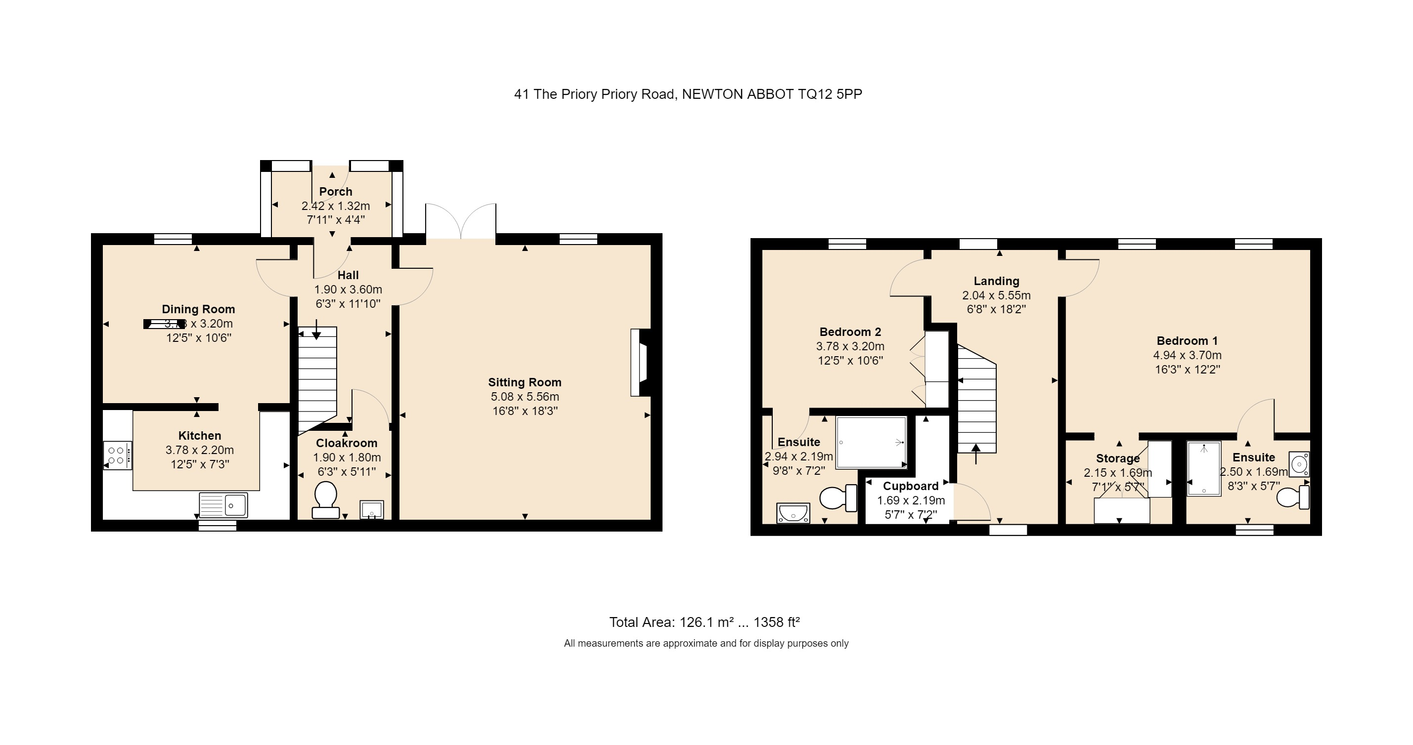 41 The Priory Floorplan