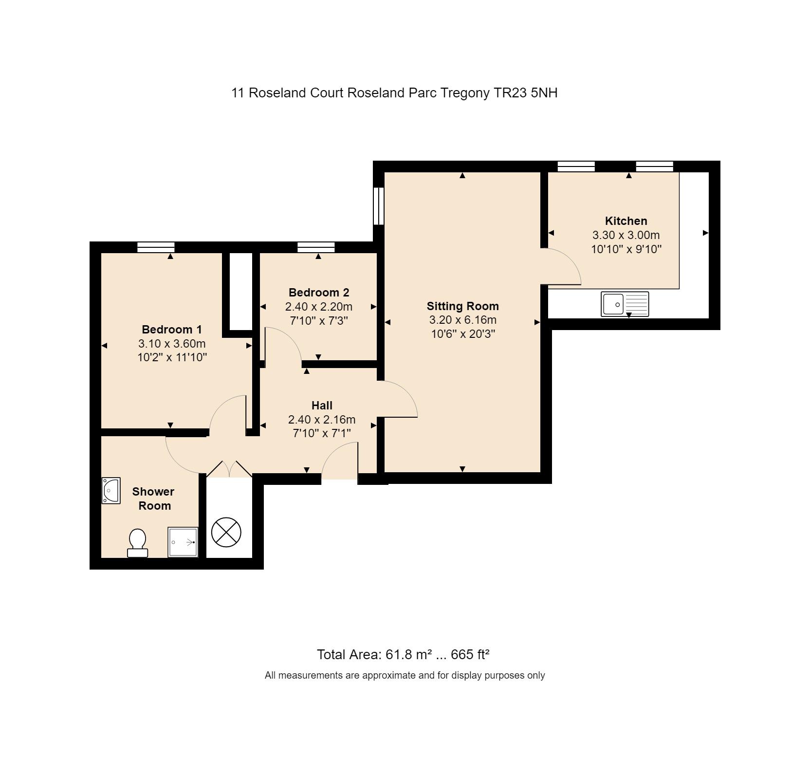 11 Roseland Court Floorplan