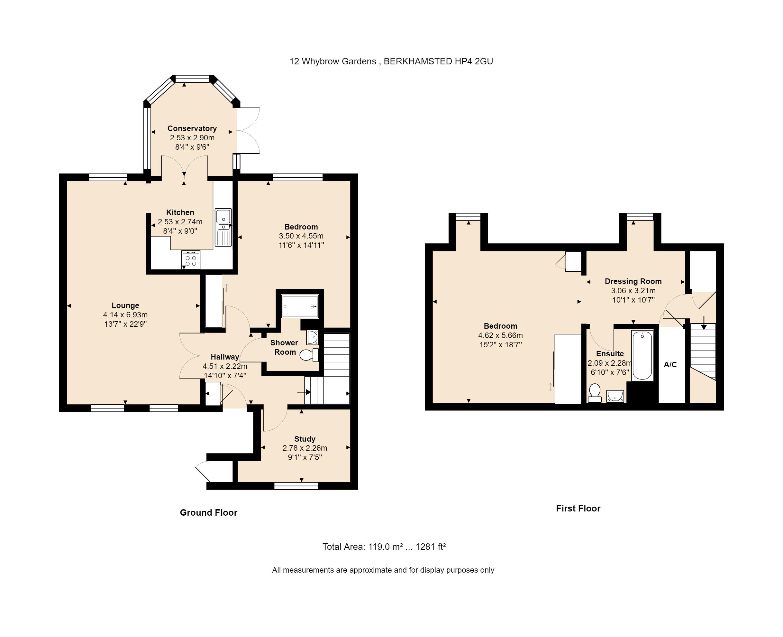 12 Whybrow Gardens Floorplan
