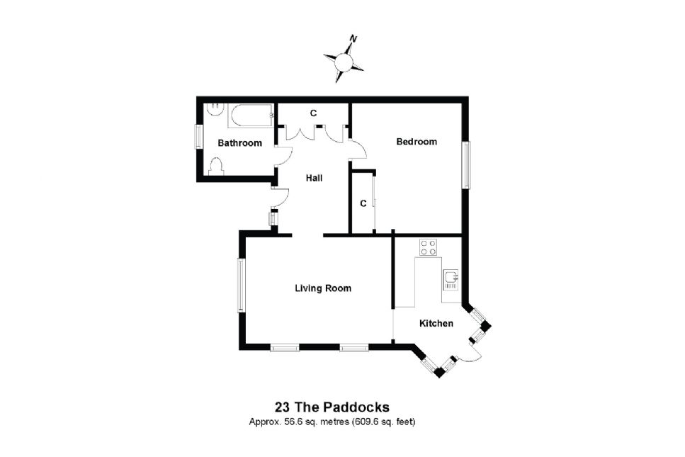 23 The Paddocks Floorplan