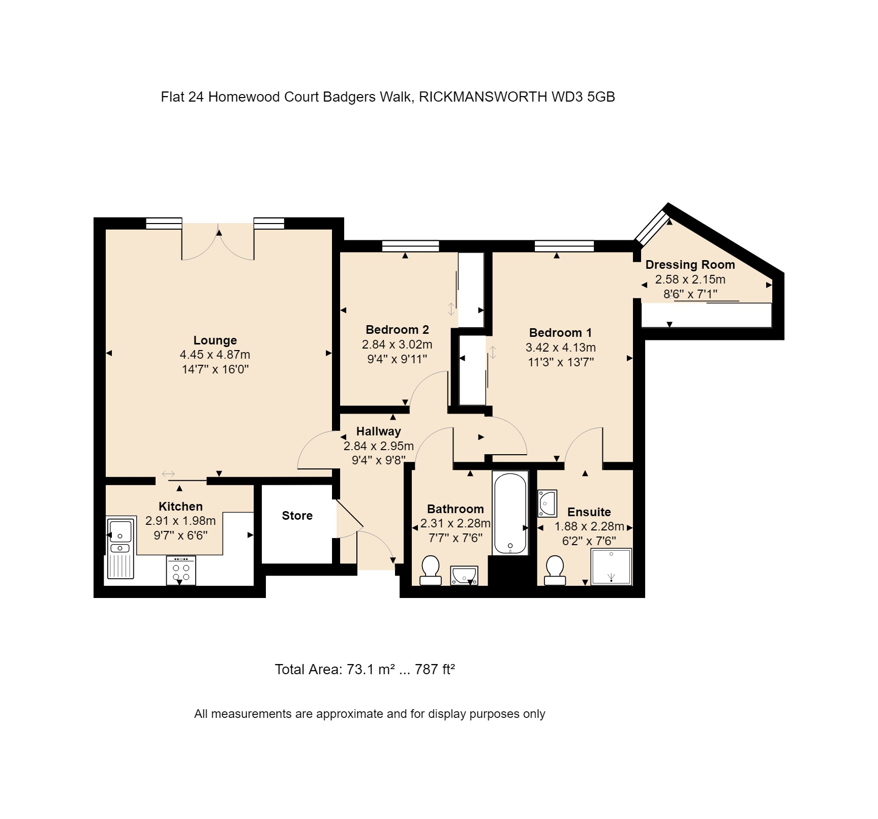24 Homewood Court Floorplan