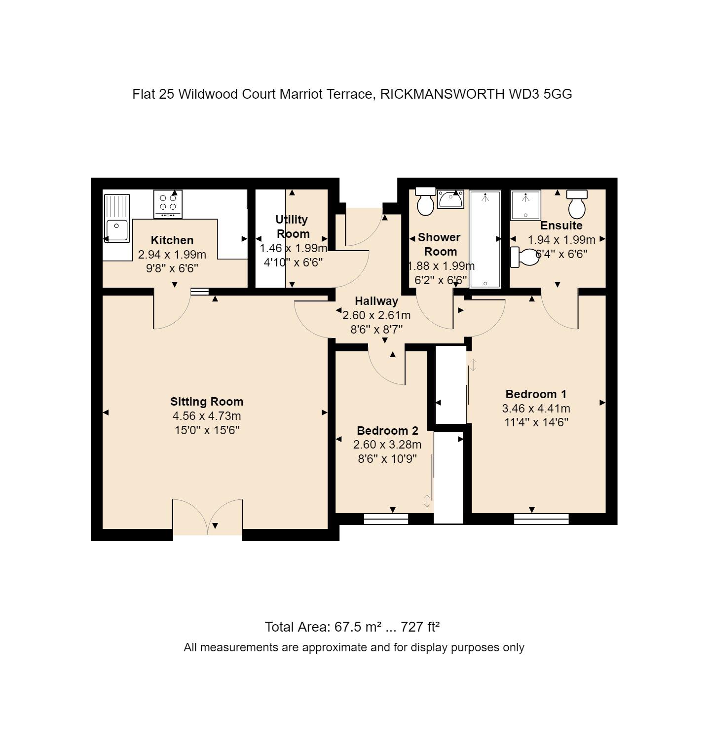 25 Wildwood Court Floorplan