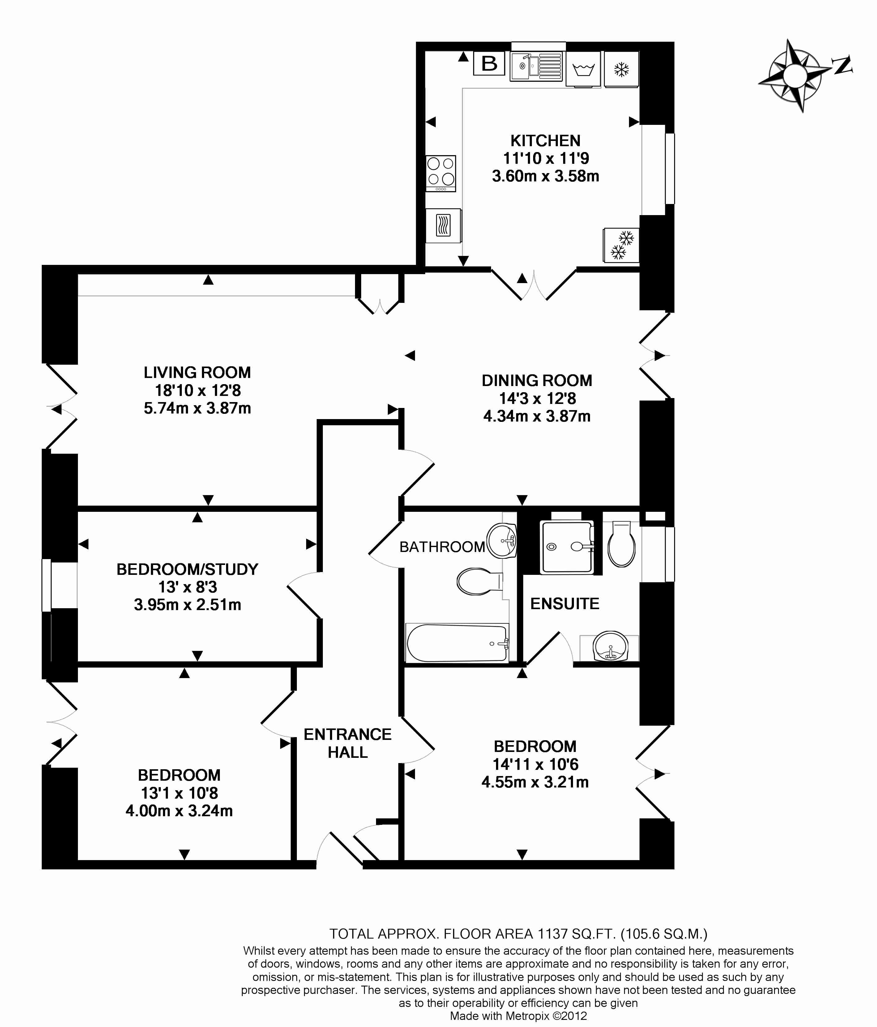 15 Kingfisher Court Floorplan