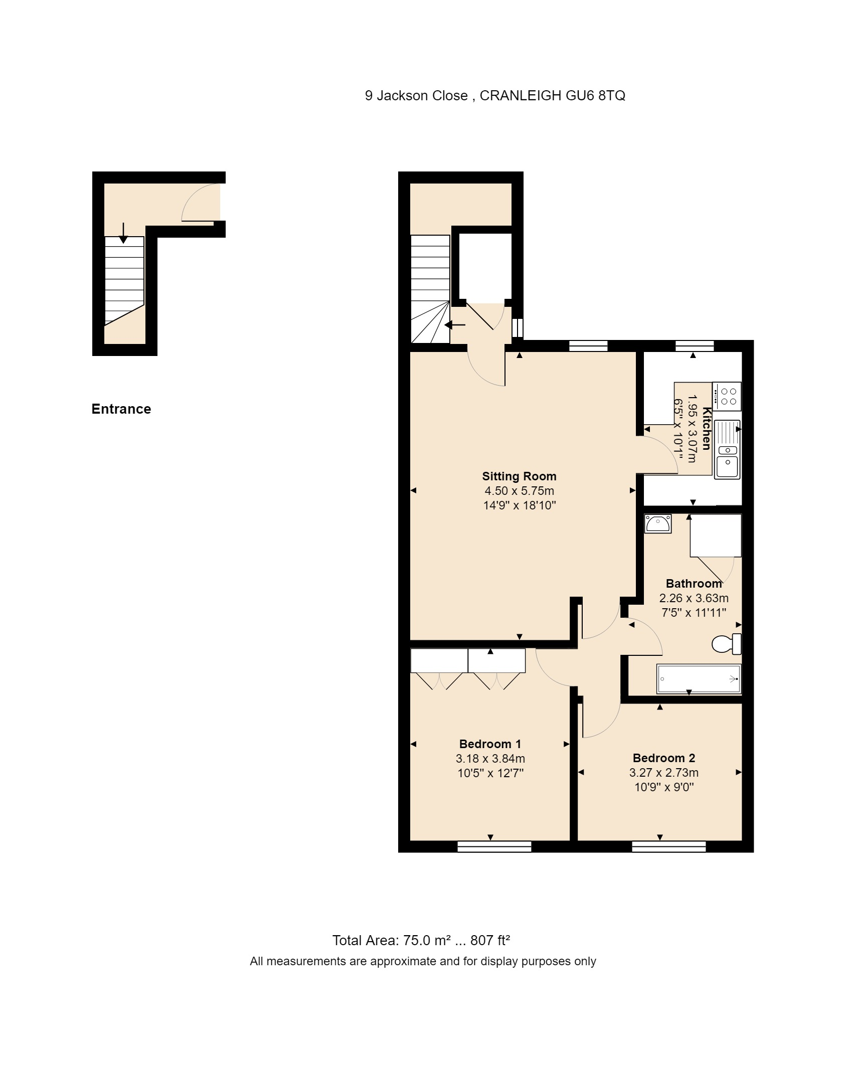 9 Jackson Close Floorplan